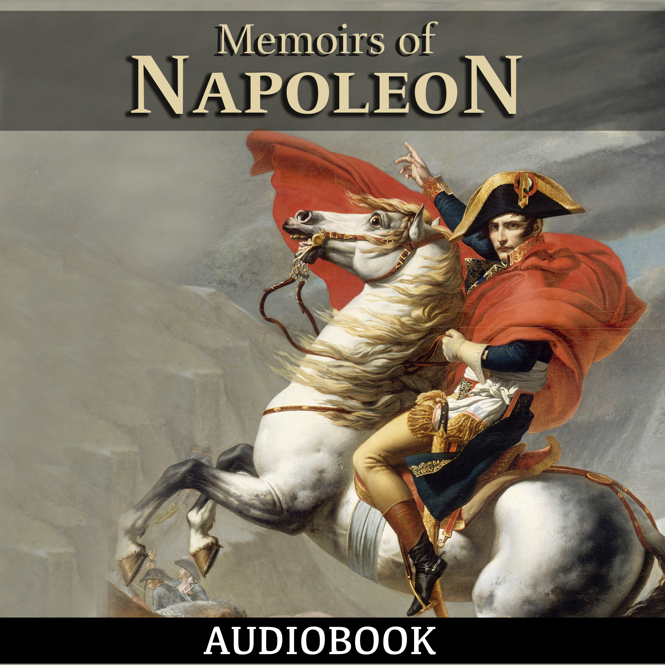 Printable Memoirs of Napoleon Audiobook Cover Art