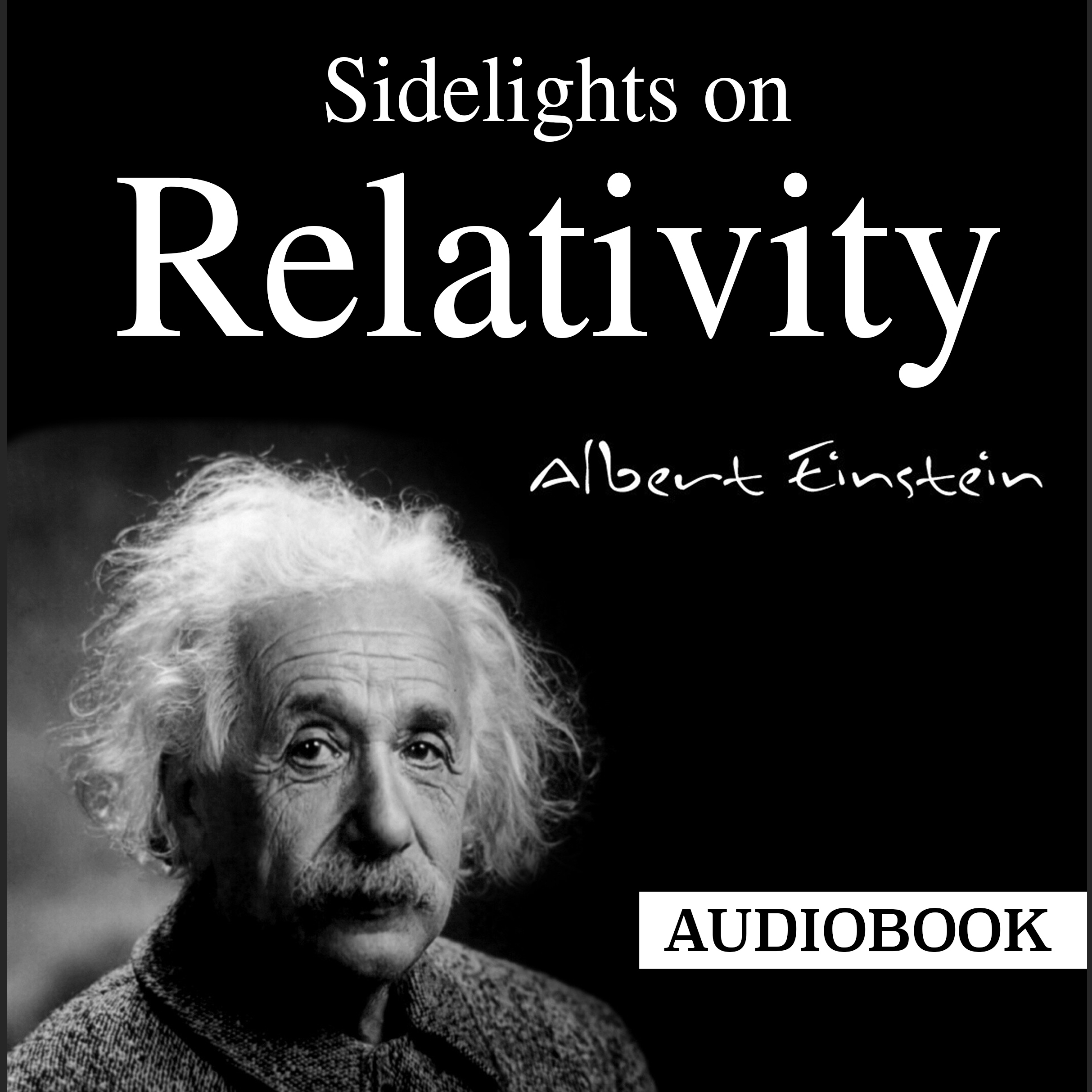 Printable Sidelights on Relativity Audiobook Cover Art