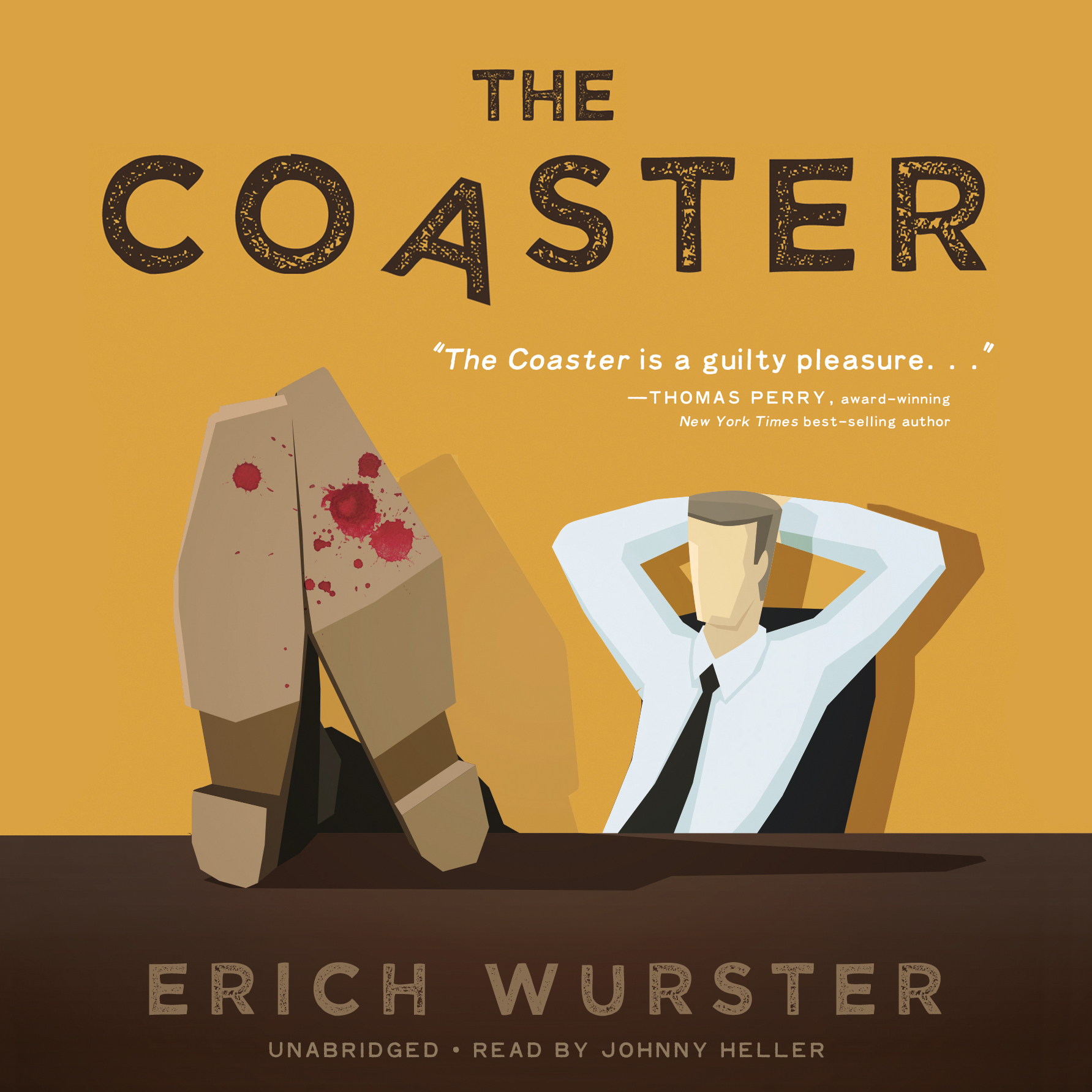 Printable The Coaster  Audiobook Cover Art