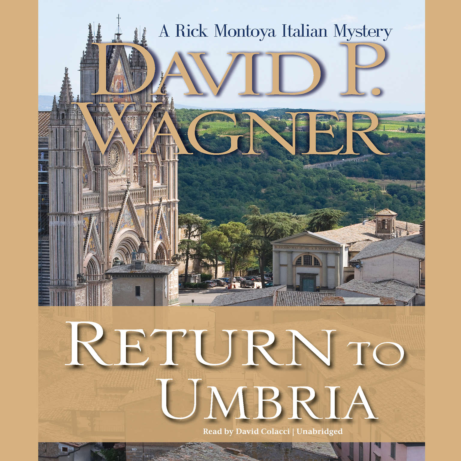 Printable Return to Umbria: A Rick Montoya Italian Mystery Audiobook Cover Art