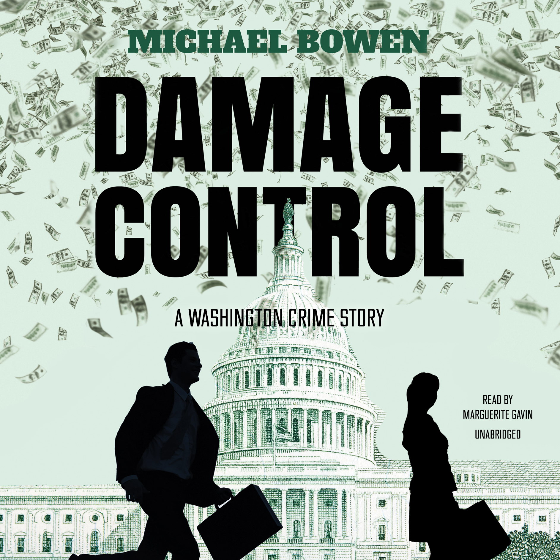 Printable Damage Control: A Washington Crime Story Audiobook Cover Art