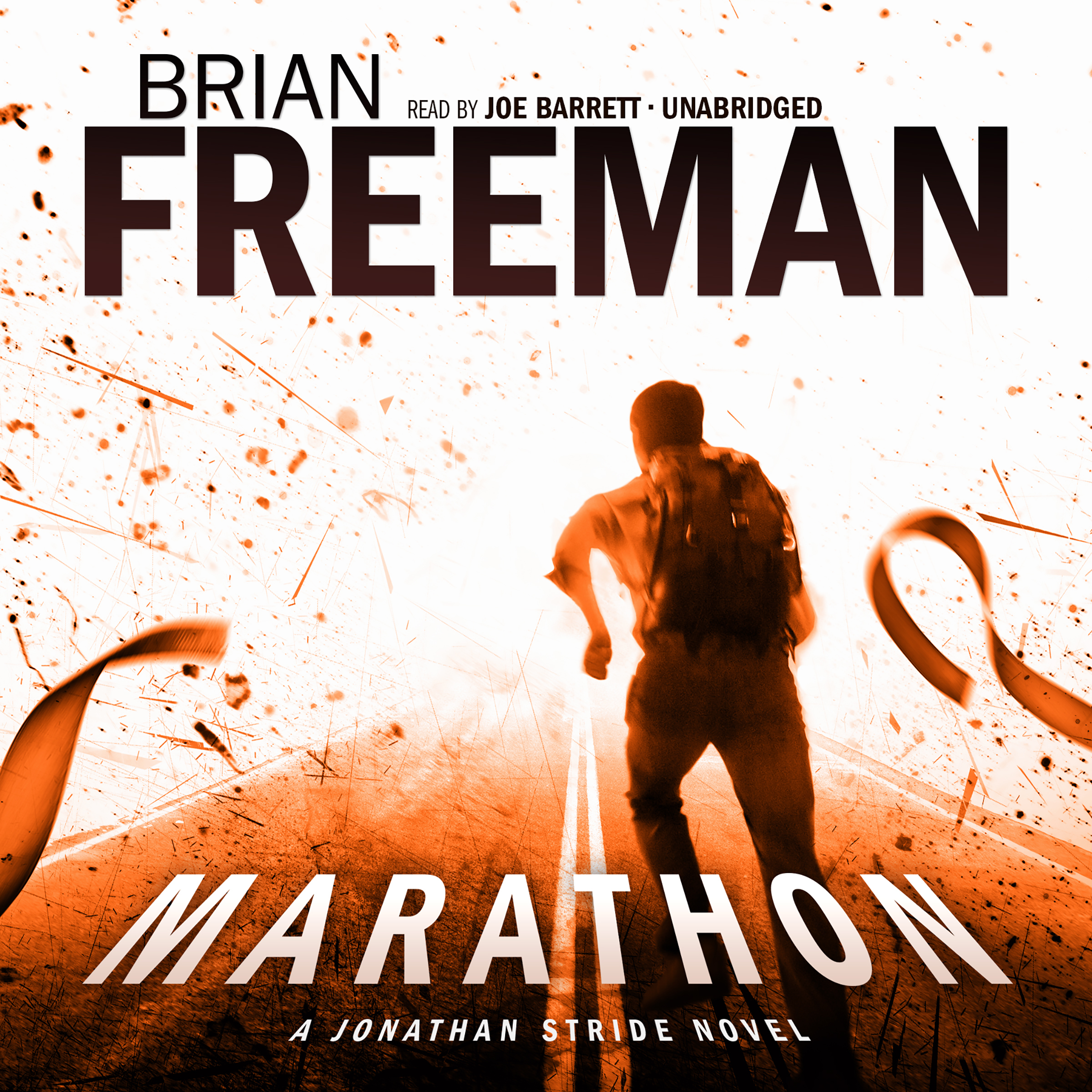 Printable Marathon: A Jonathan Stride Novel Audiobook Cover Art