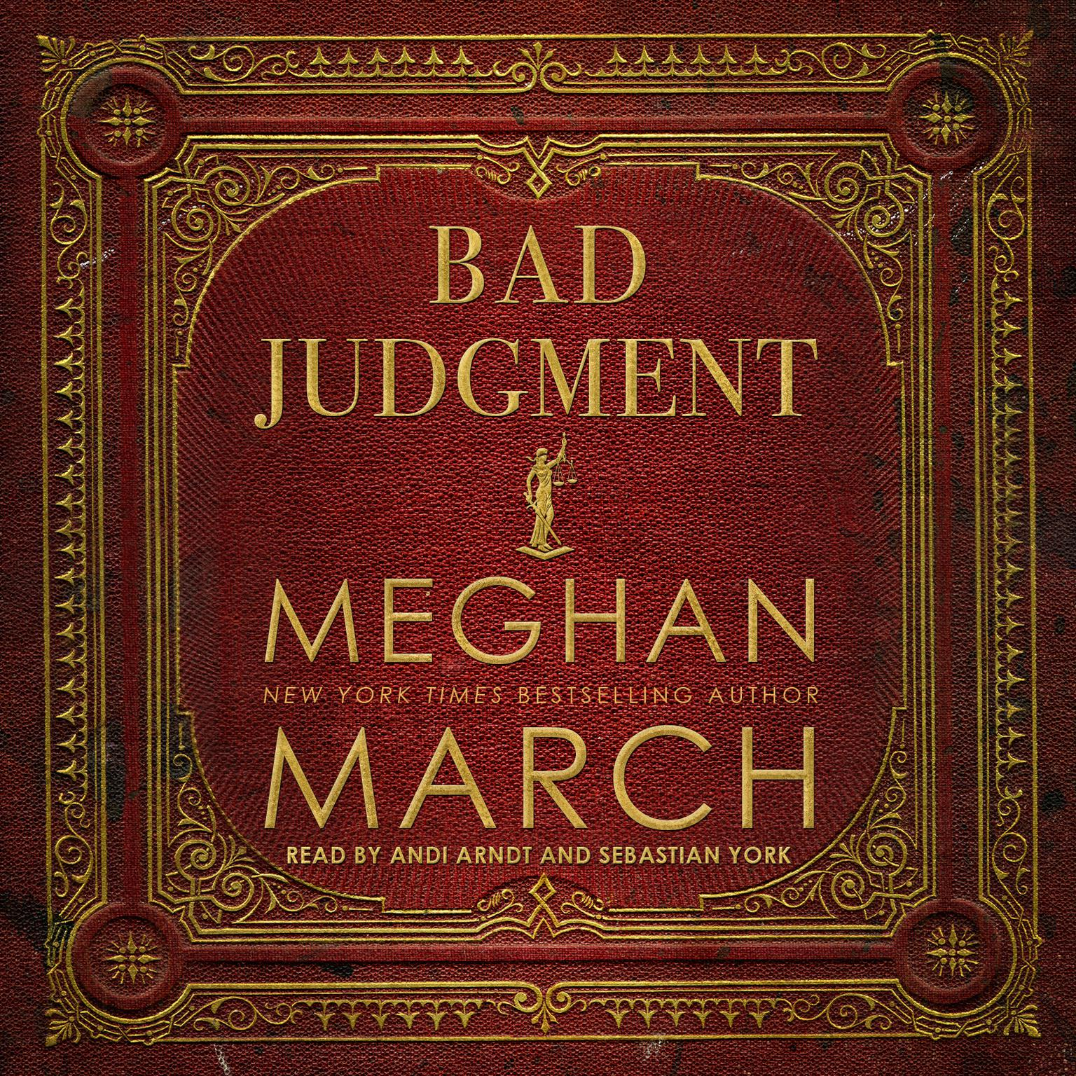 Printable Bad Judgment Audiobook Cover Art