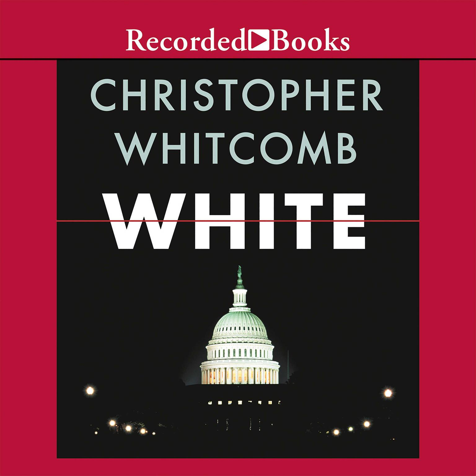 Printable White Audiobook Cover Art