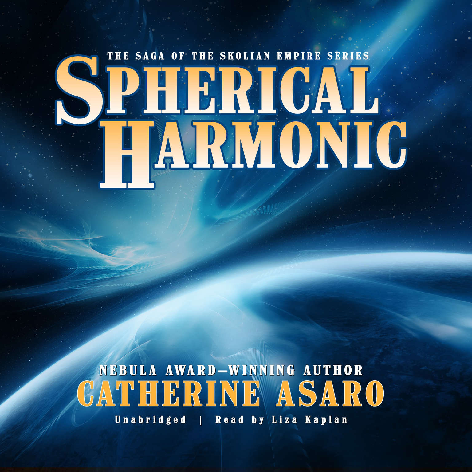 Printable Spherical Harmonic Audiobook Cover Art