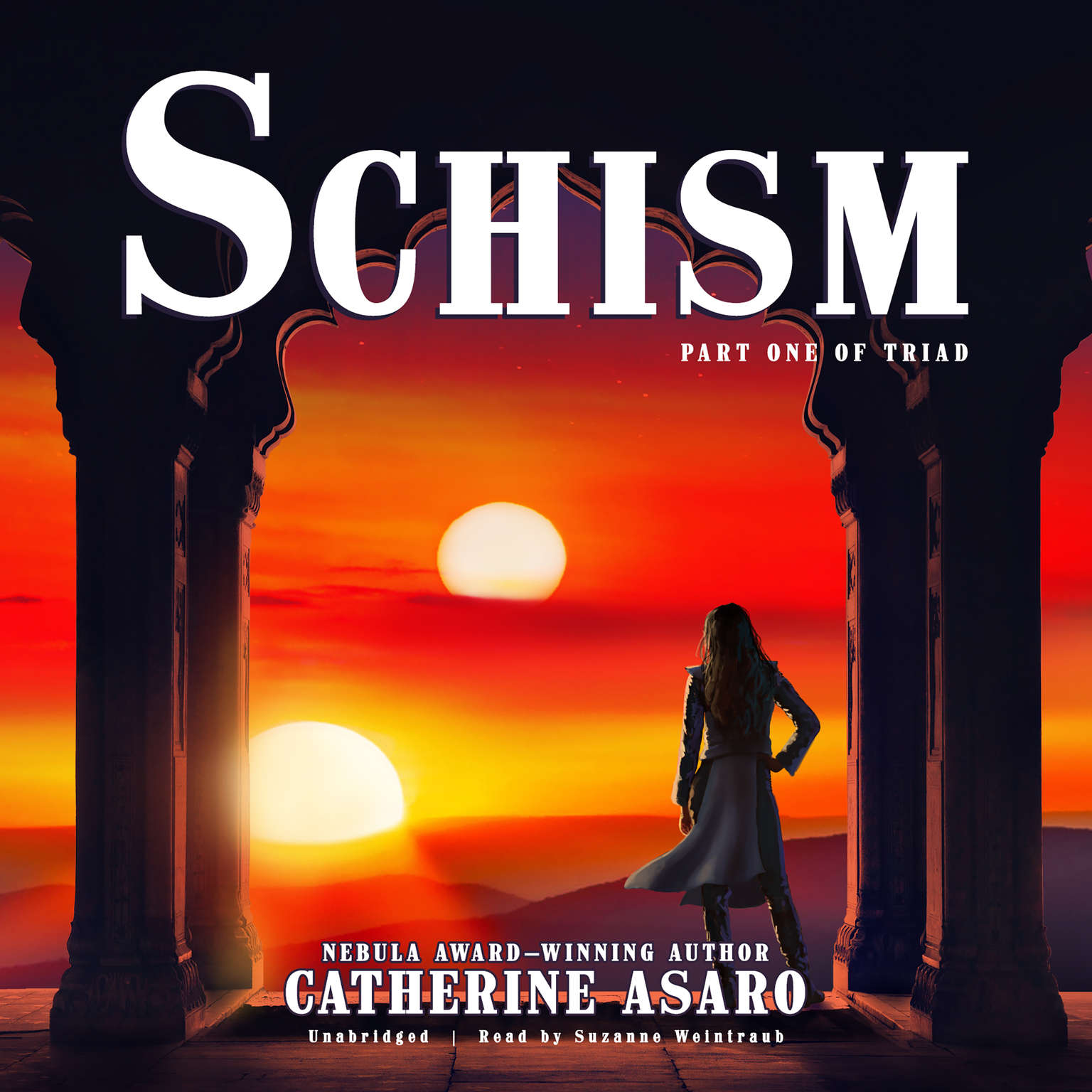 Printable Schism: Part One of Triad Audiobook Cover Art