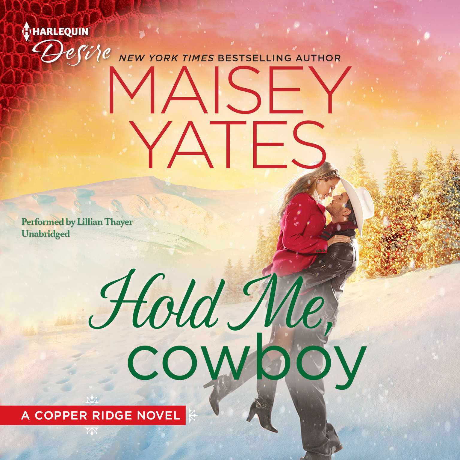 Hold Me, Cowboy Audiobook, by Maisey Yates