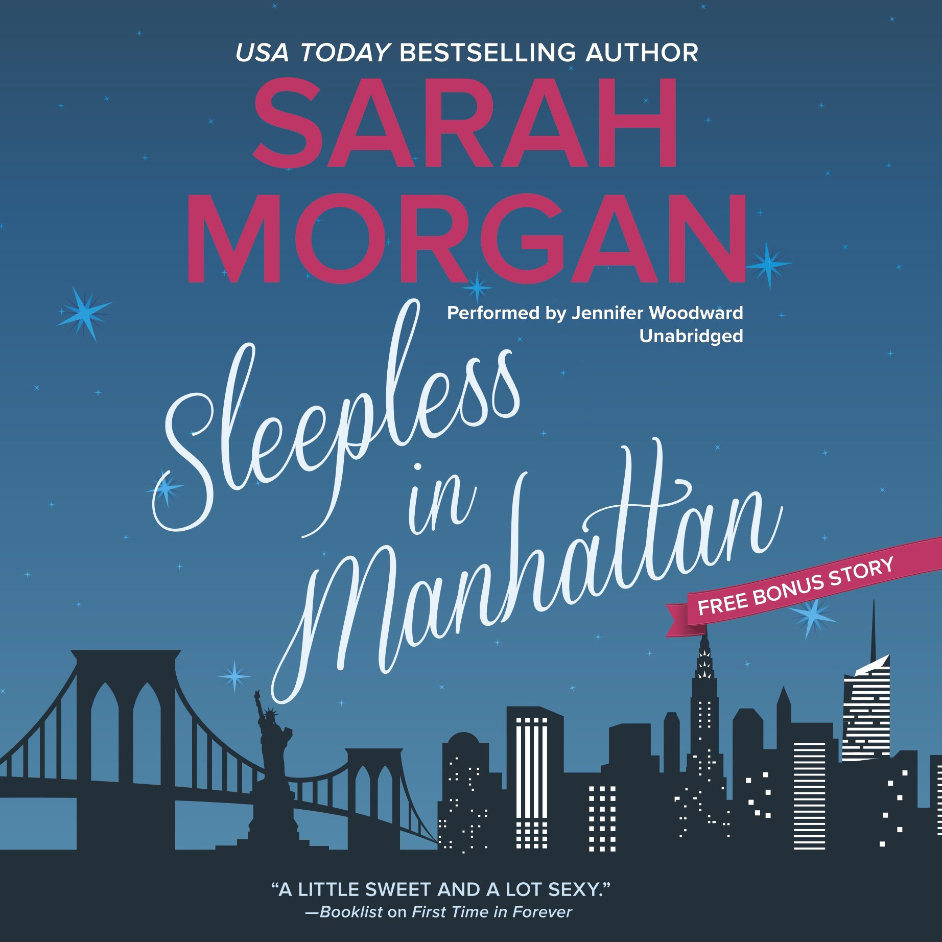 Printable Sleepless in Manhattan: From Manhattan with Love, #1 Audiobook Cover Art