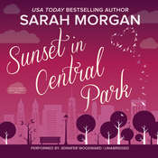 Sunset in Central Park, by Sarah Morgan