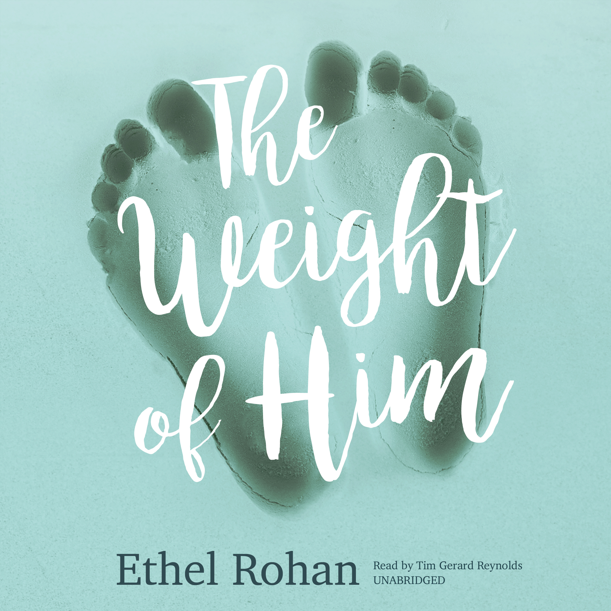 Printable The Weight of Him: A Novel Audiobook Cover Art