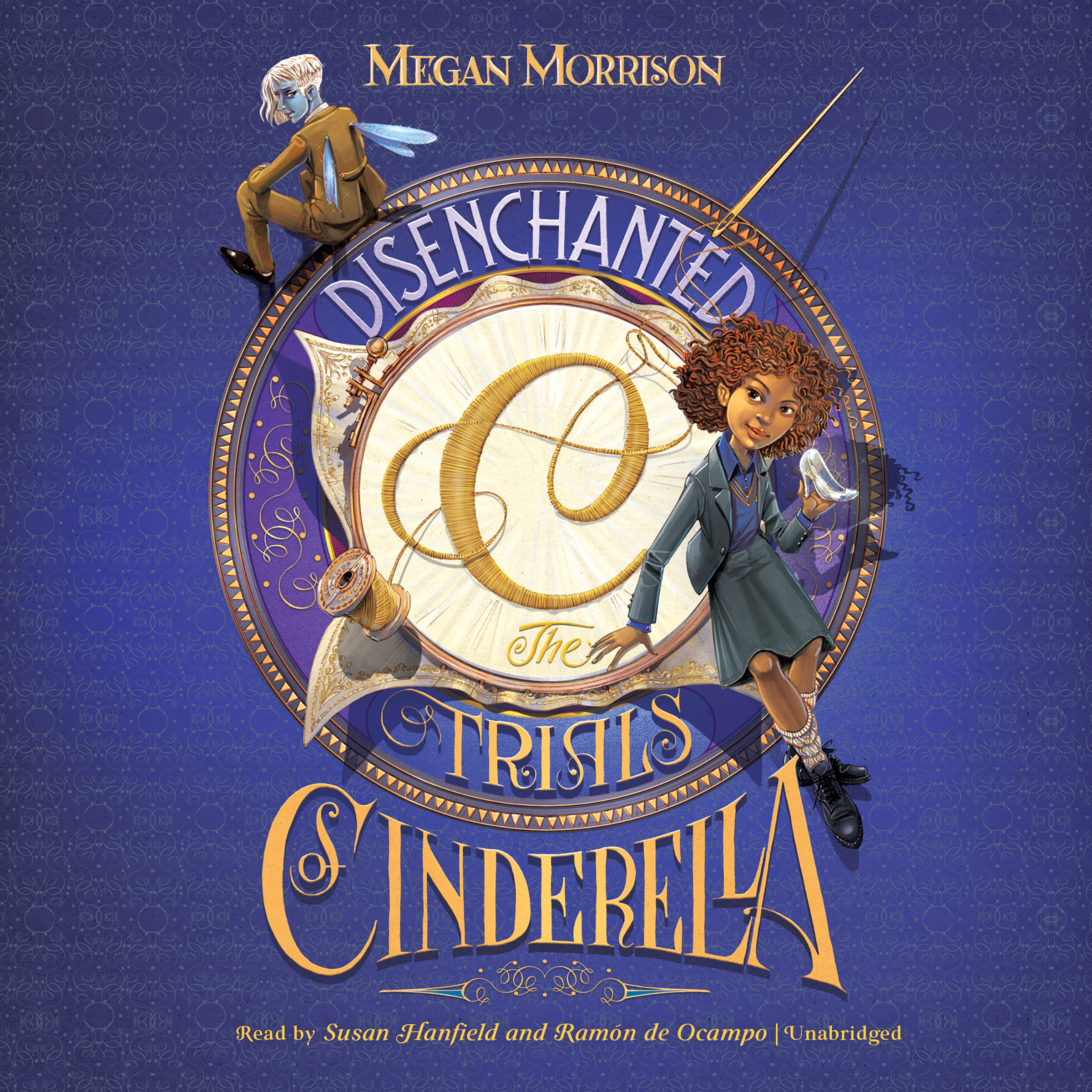 Printable Disenchanted: The Trials of Cinderella Audiobook Cover Art