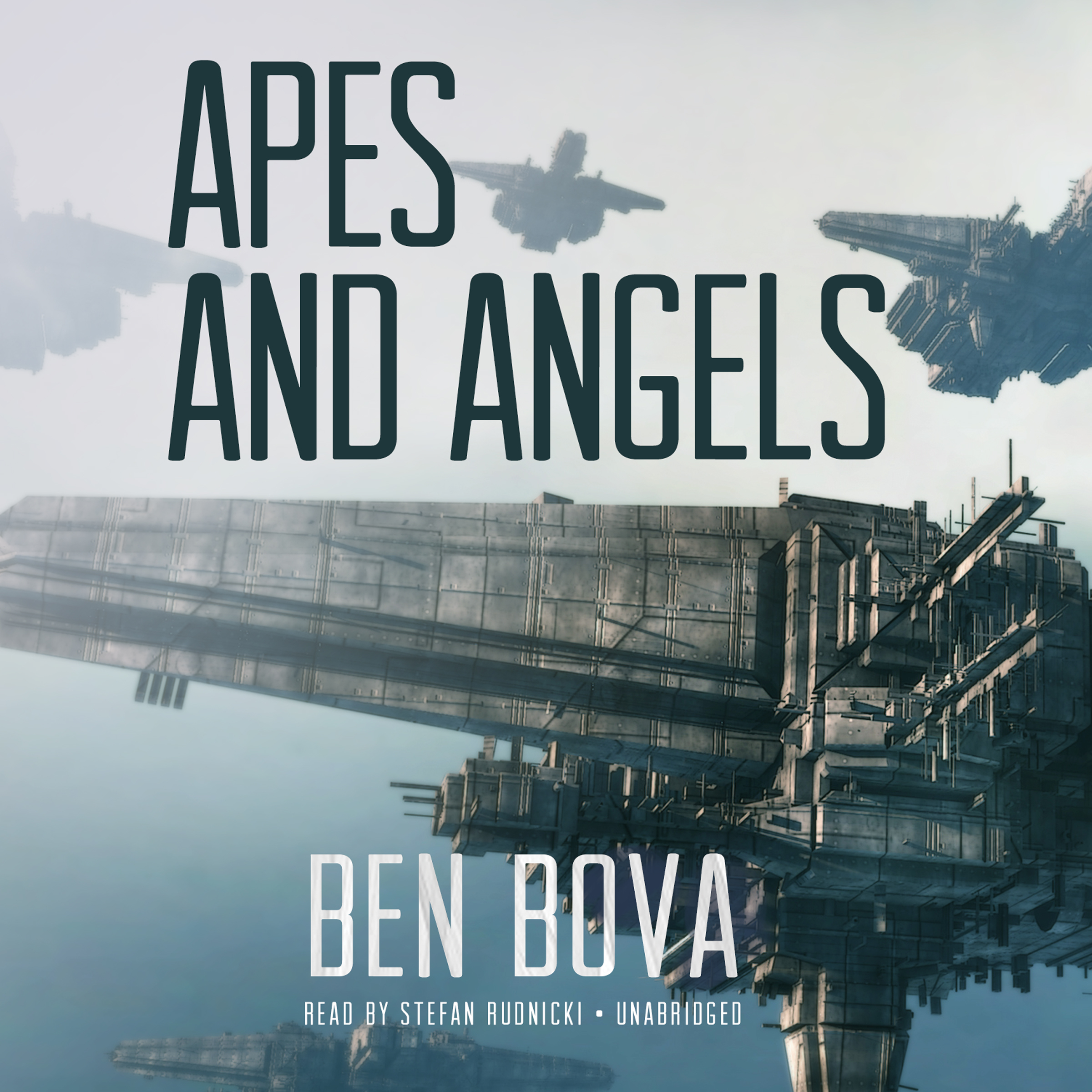 Printable Apes and Angels Audiobook Cover Art