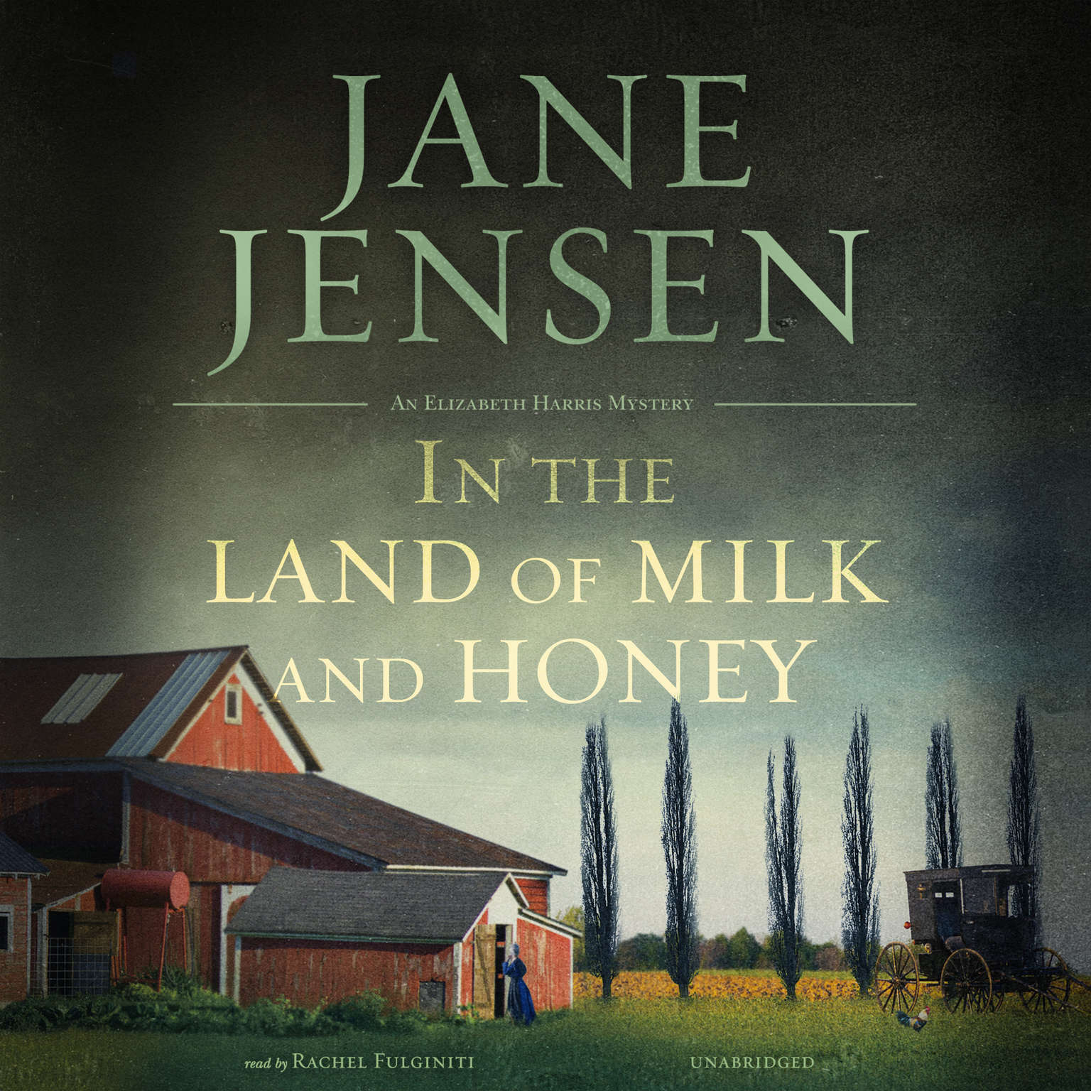 Printable In the Land of Milk and Honey Audiobook Cover Art