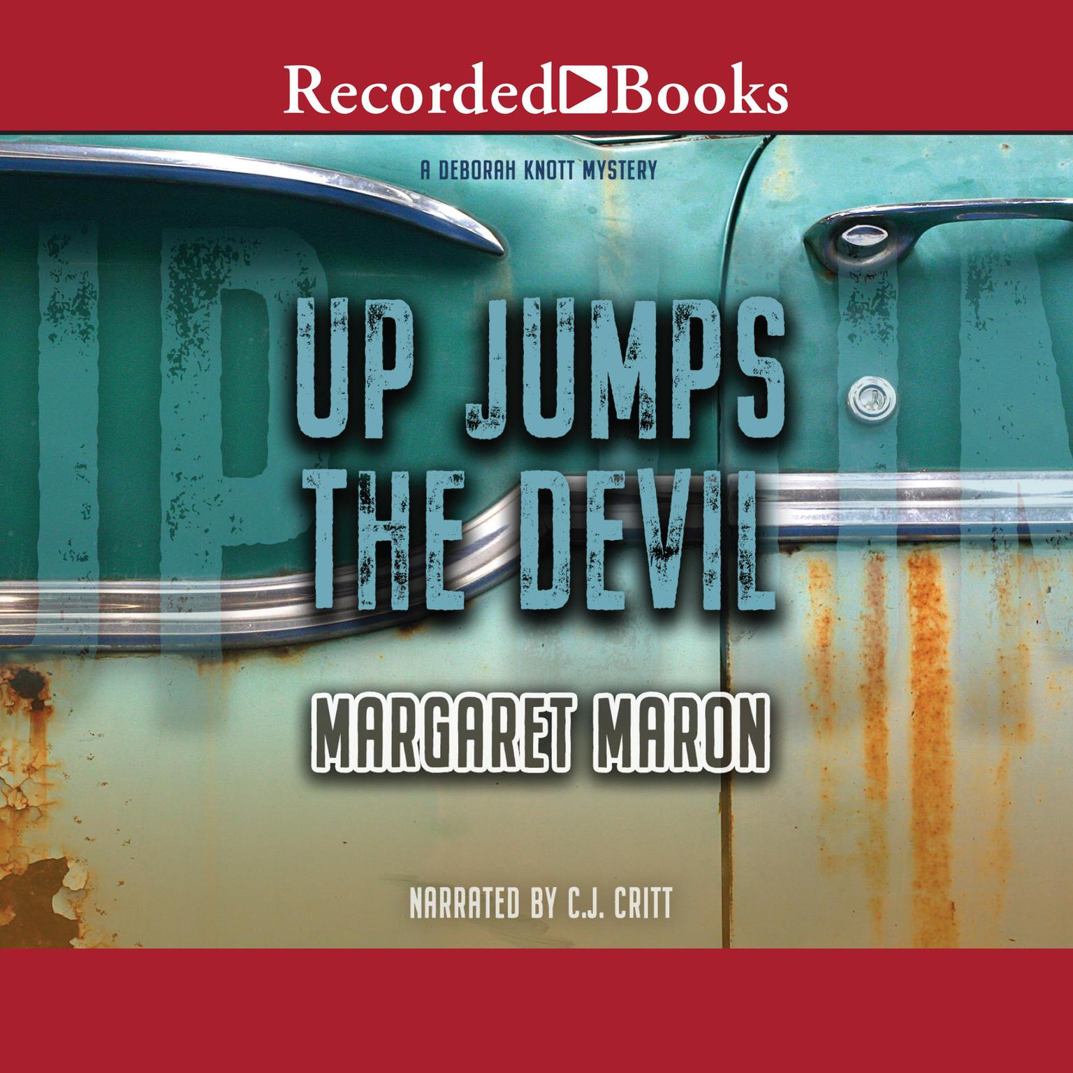 Printable Up Jumps the Devil Audiobook Cover Art