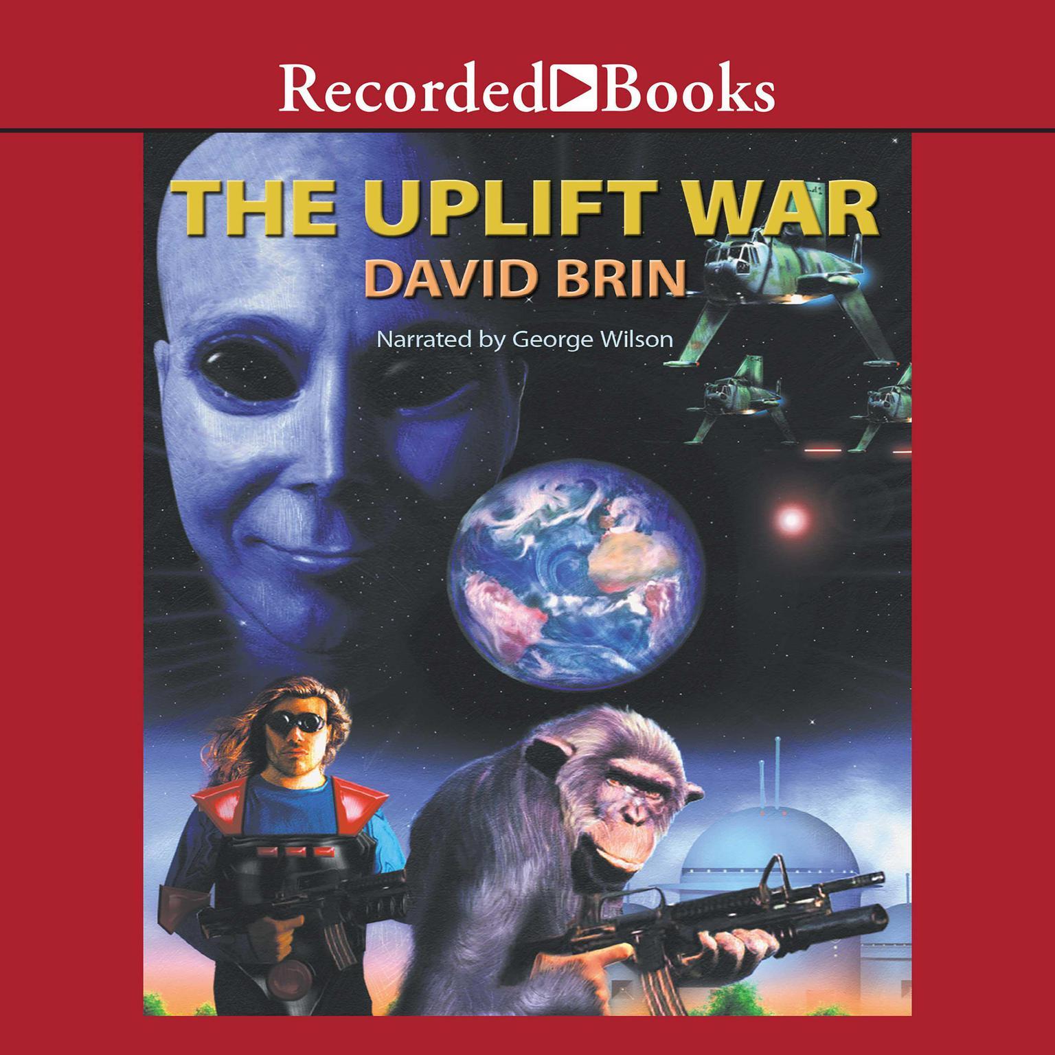 The Uplift War Audiobook, by David Brin