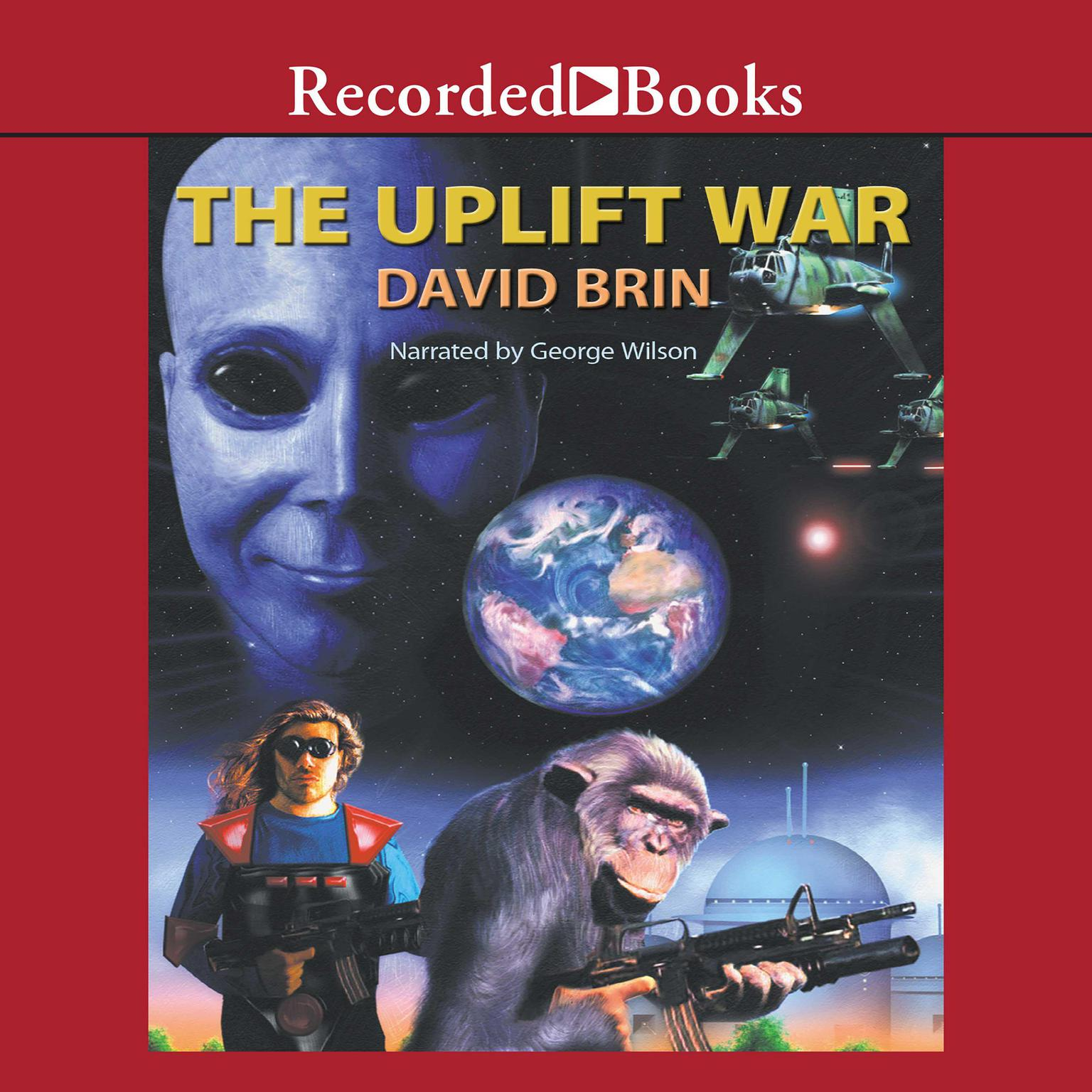 Printable The Uplift War Audiobook Cover Art