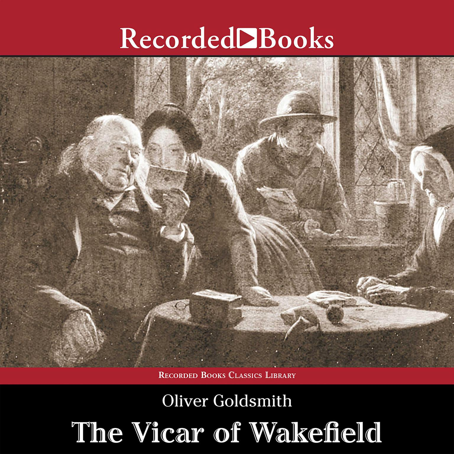 Printable The Vicar of Wakefield Audiobook Cover Art