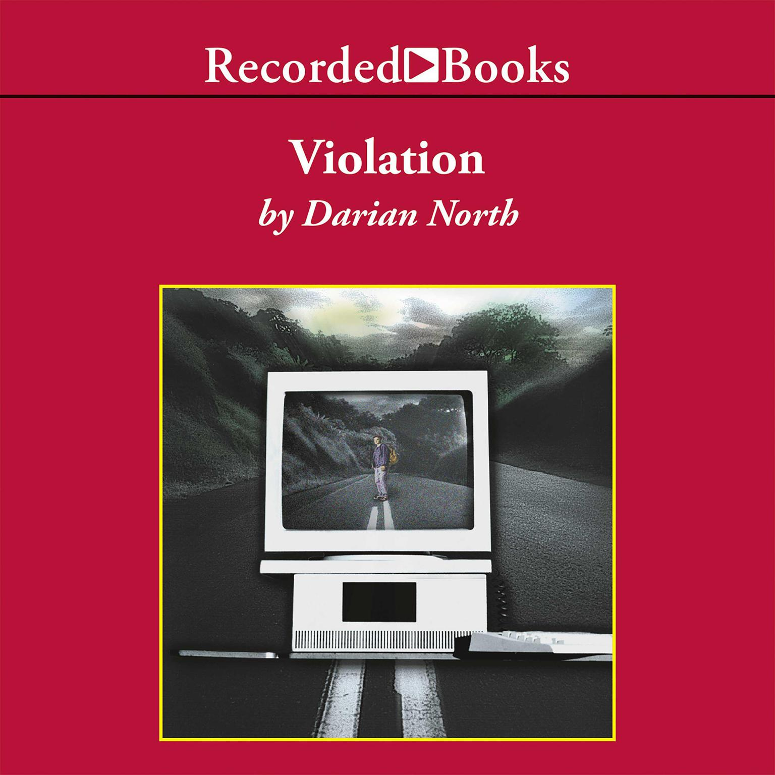 Printable Violation Audiobook Cover Art