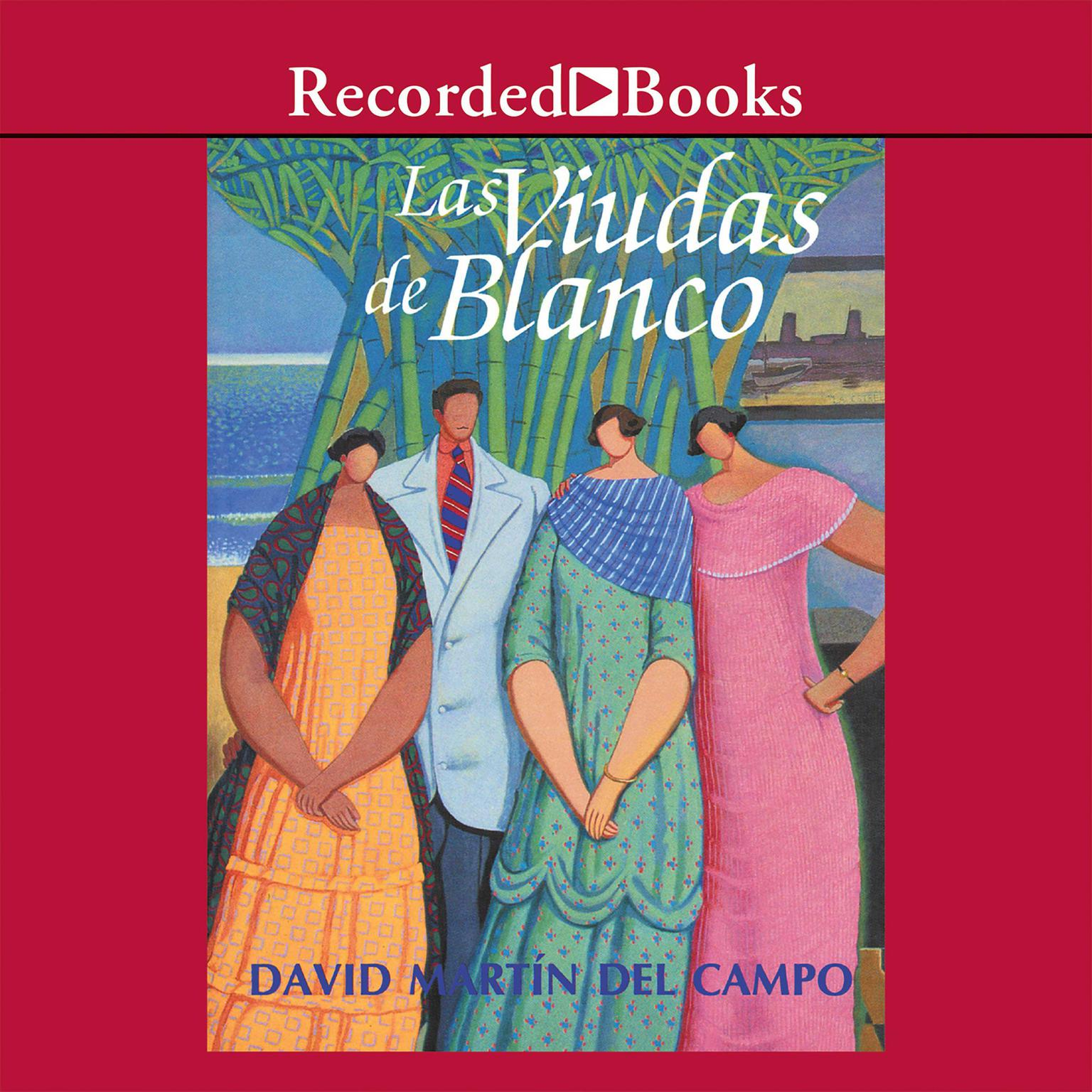 Printable Las viudas de blanco Audiobook Cover Art