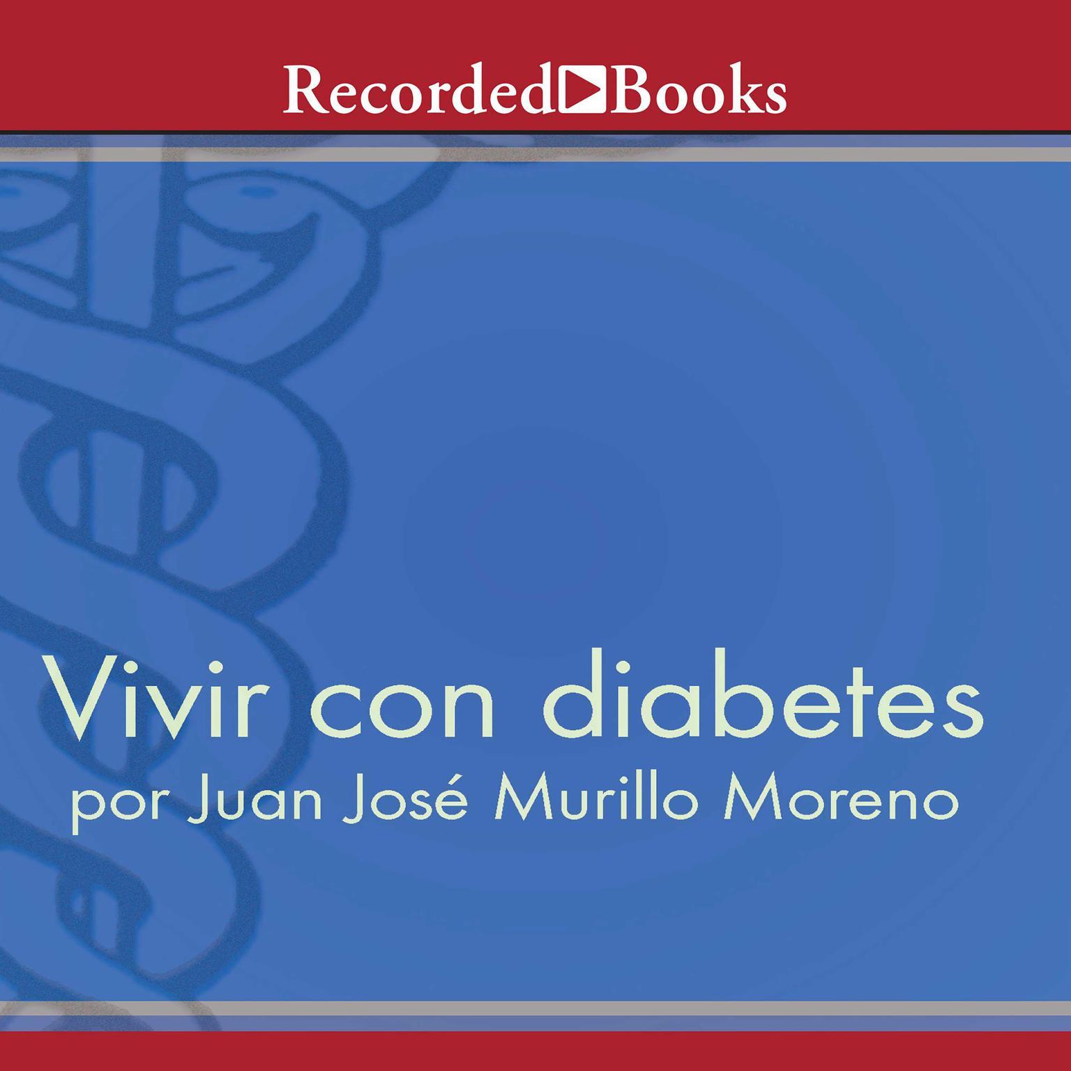 Printable Vivir con diabetes Audiobook Cover Art