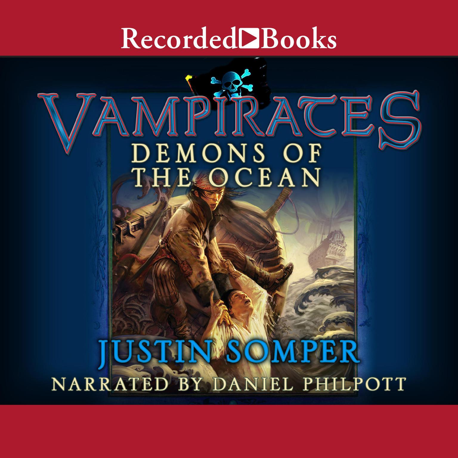Printable Vampirates: Demons of the Ocean Audiobook Cover Art