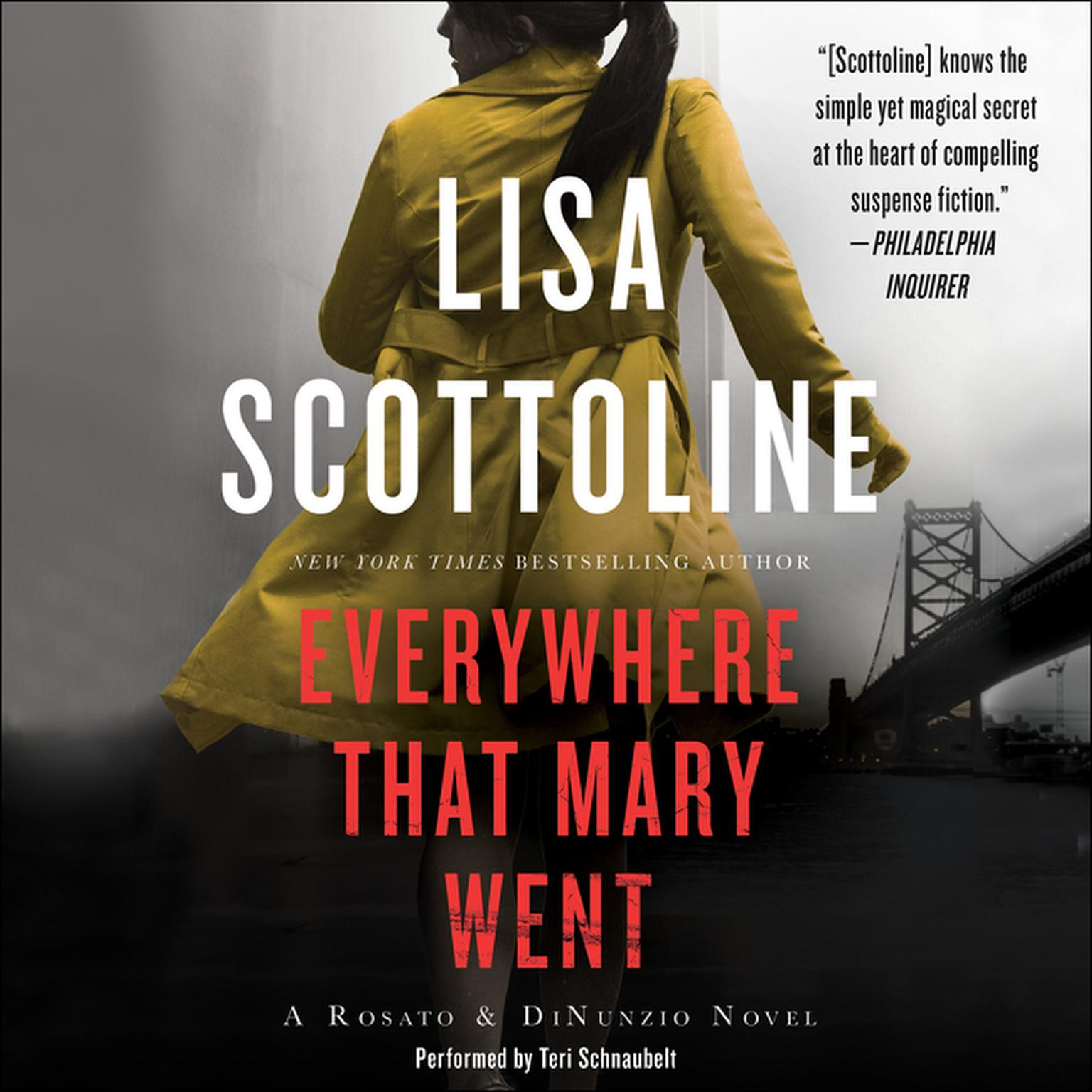 Printable Everywhere That Mary Went: A Rosato & Associates Novel Audiobook Cover Art