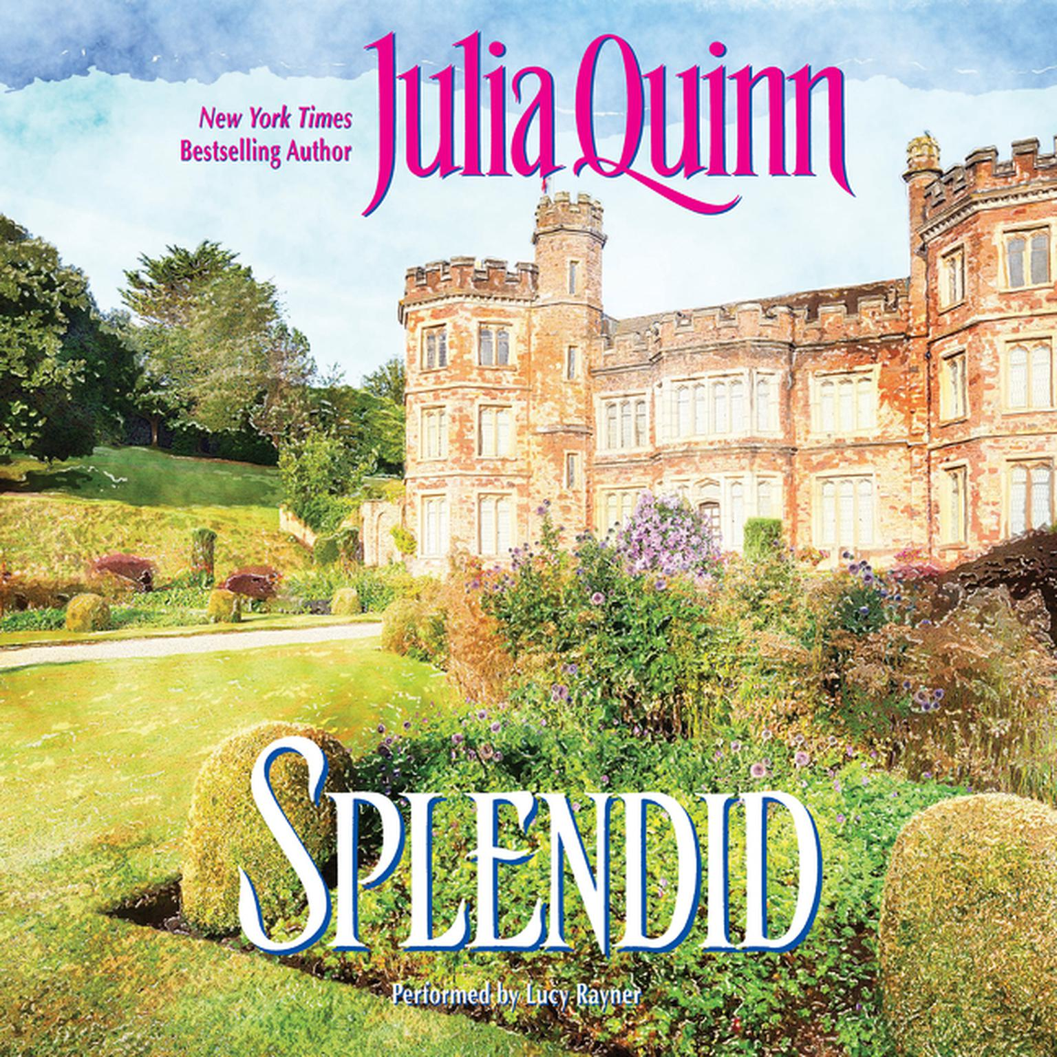 Printable Splendid Audiobook Cover Art