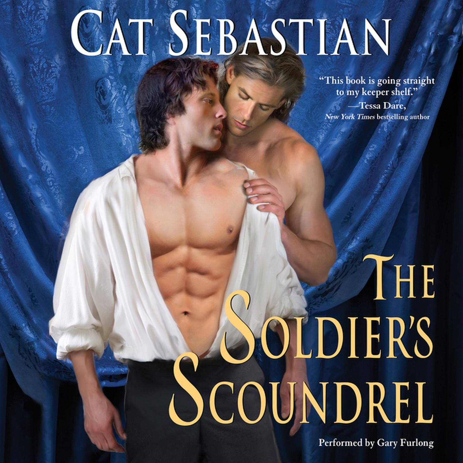 Printable The Soldier's Scoundrel Audiobook Cover Art