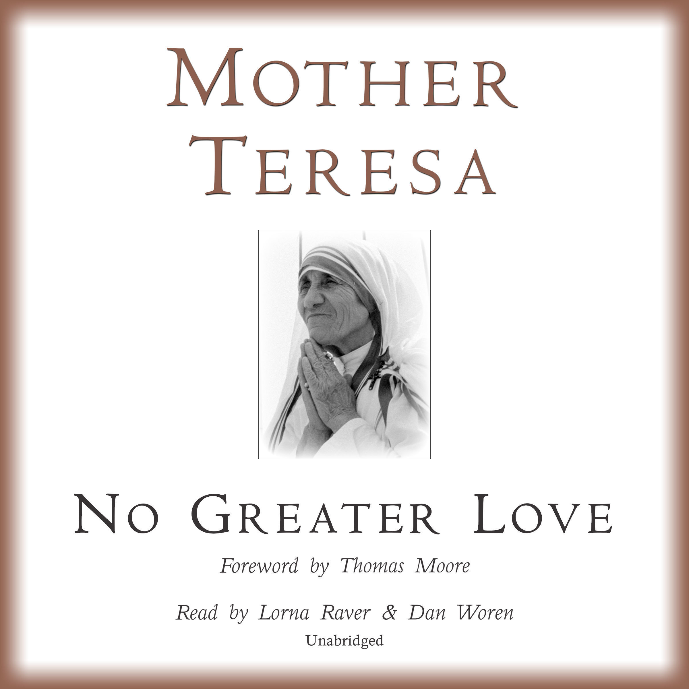 Printable No Greater Love Audiobook Cover Art