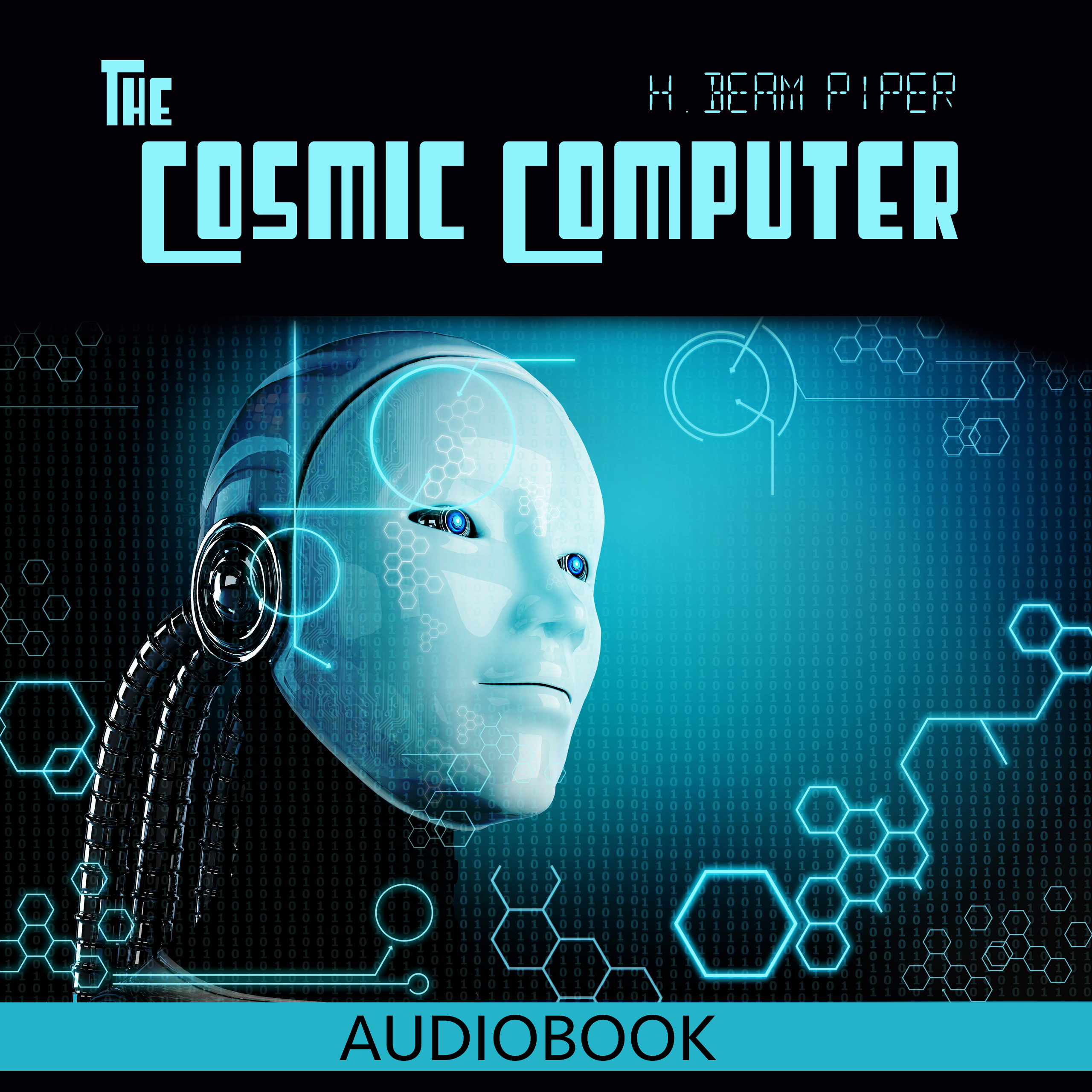 Printable The Cosmic Computer Audiobook Cover Art