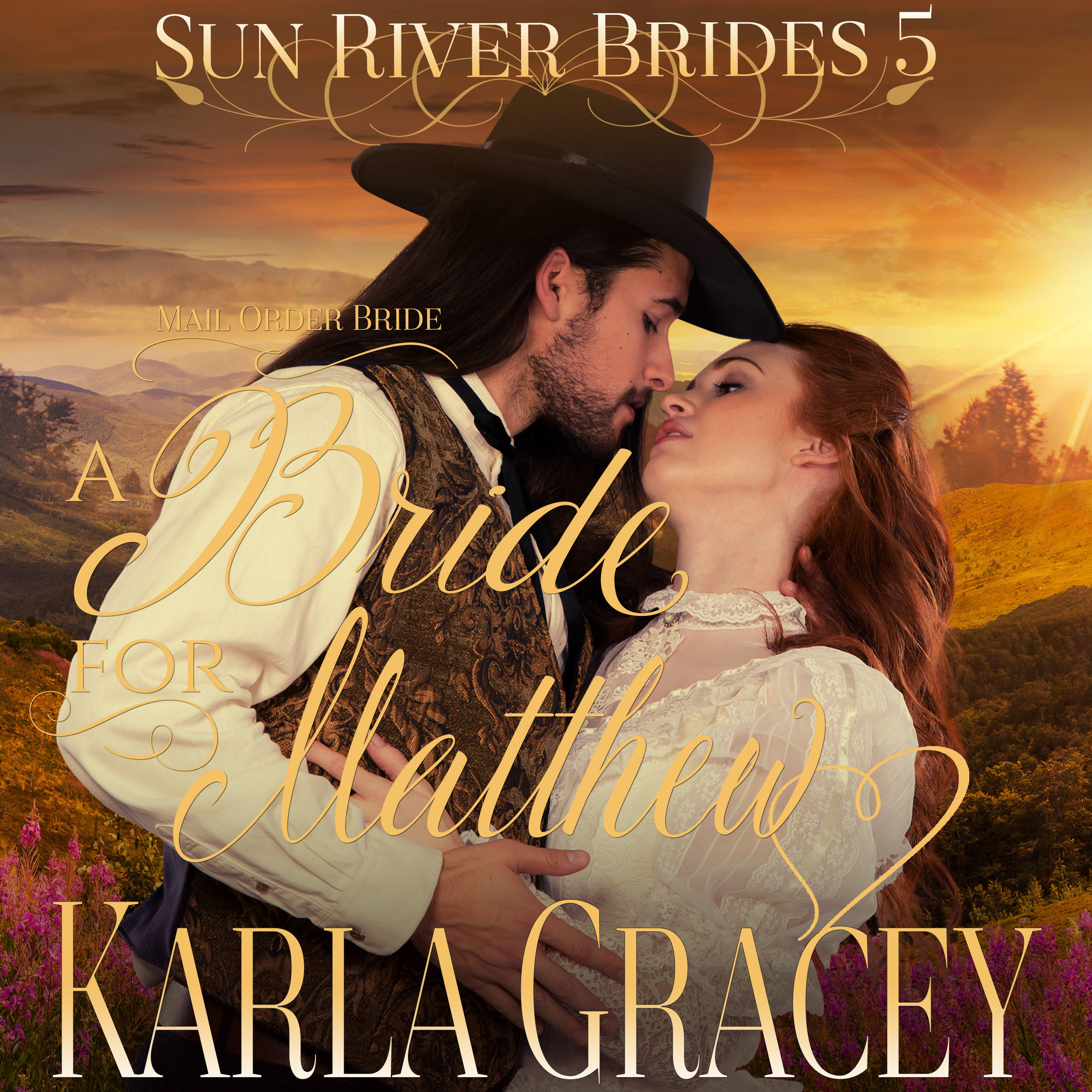 Printable Mail Order Bride - A Bride for Matthew  Audiobook Cover Art