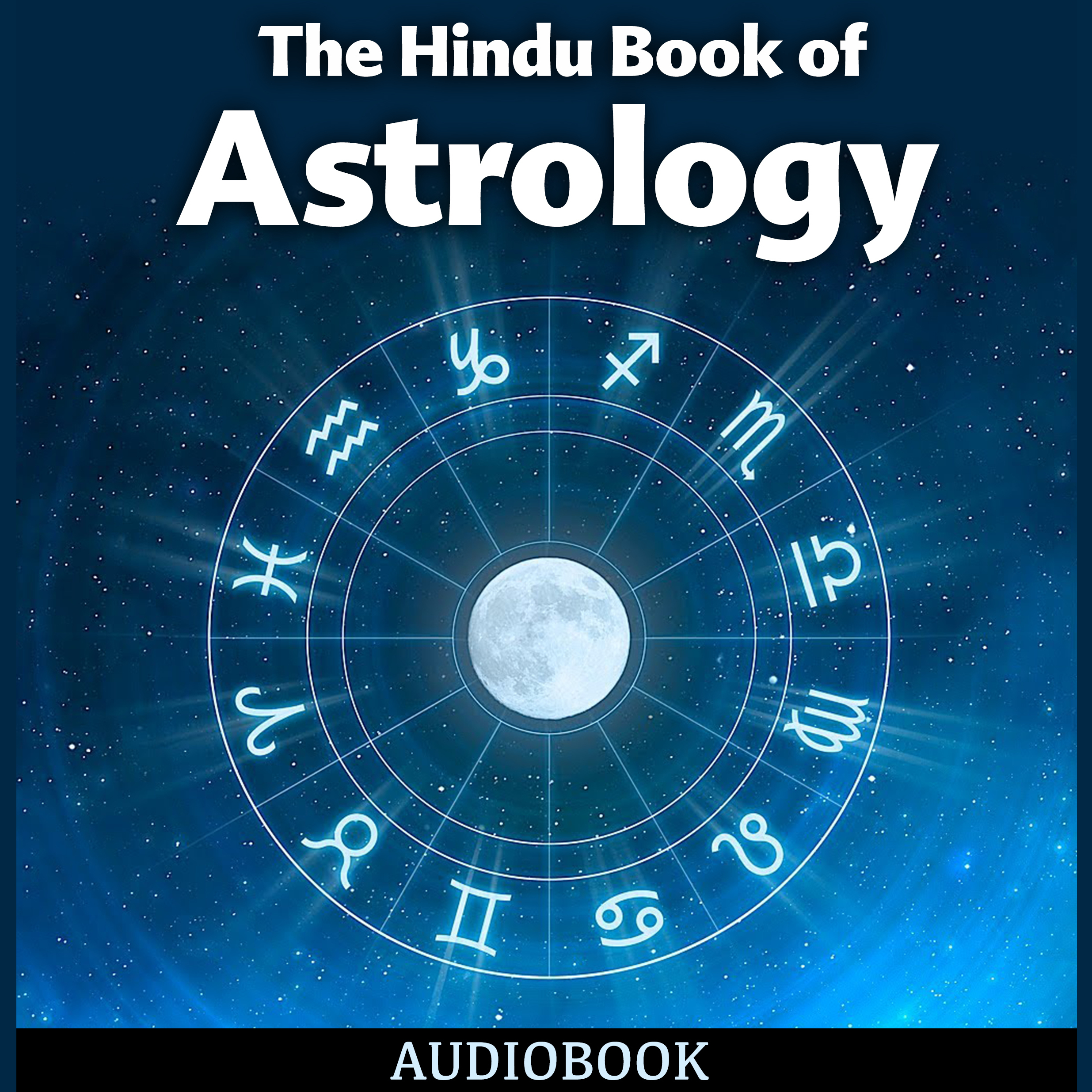 Printable The Hindu Book of Astrology Audiobook Cover Art