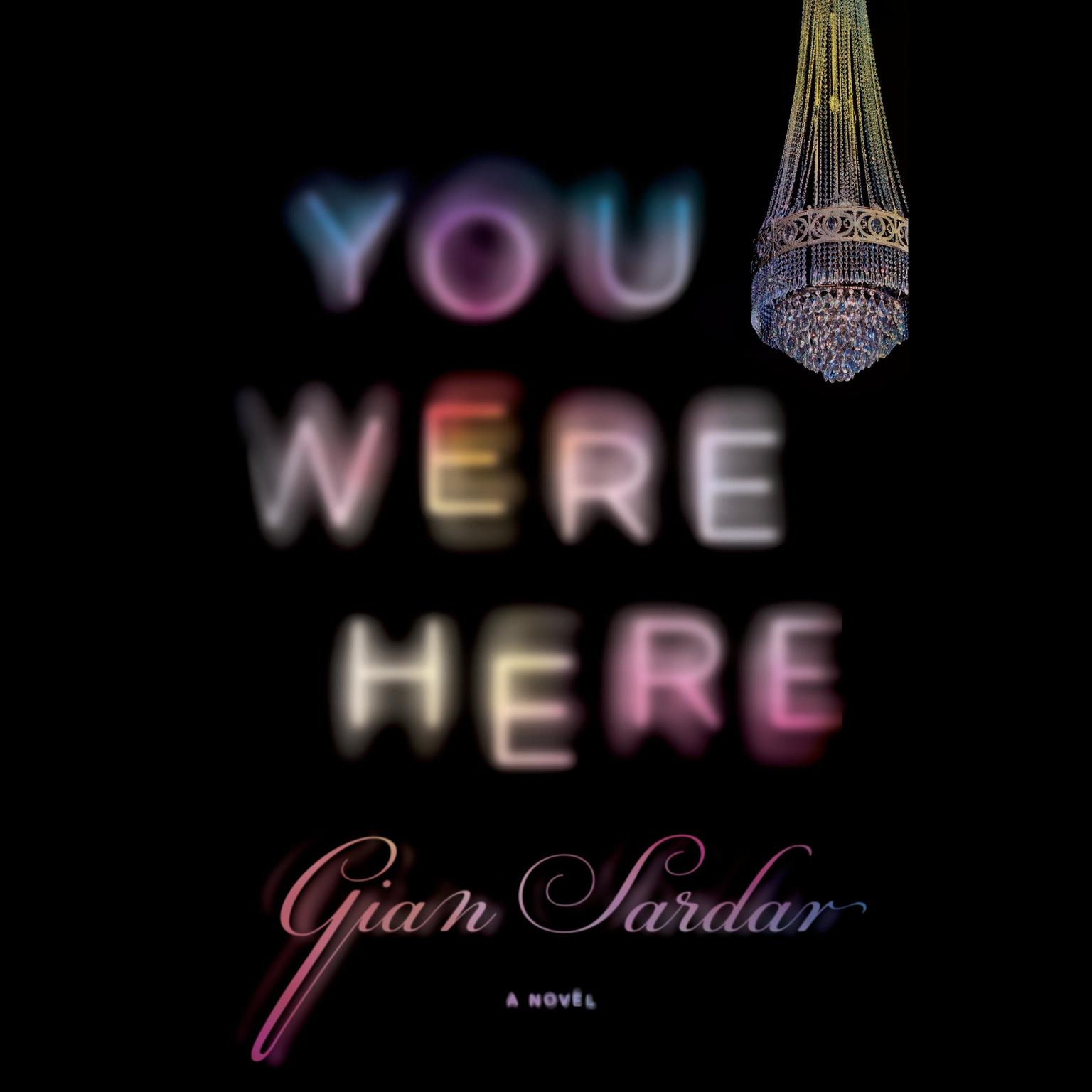 Printable You Were Here Audiobook Cover Art