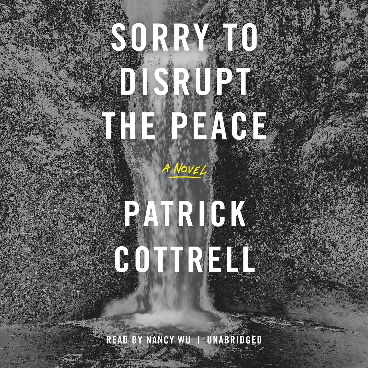 Printable Sorry to Disrupt the Peace Audiobook Cover Art