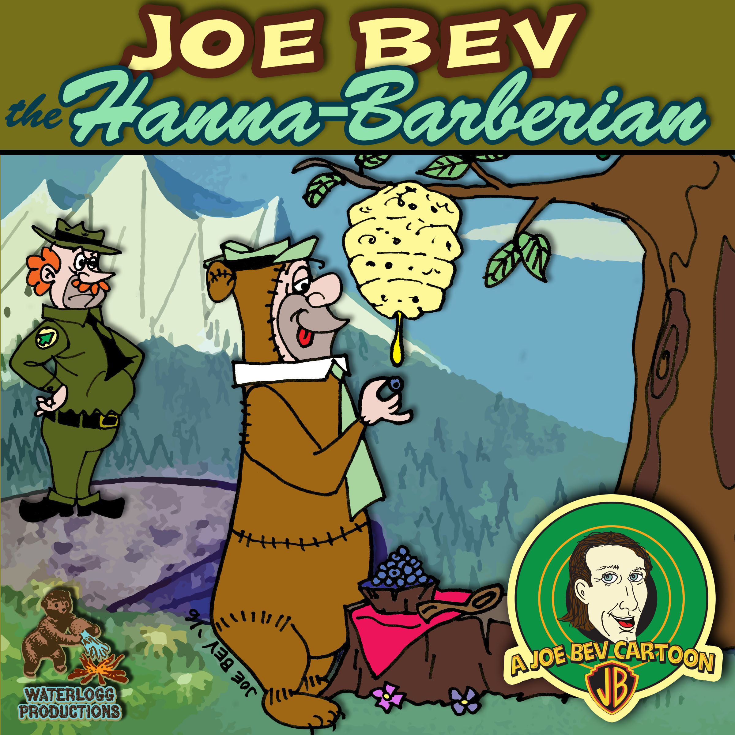 Printable Joe Bev Hanna-Barberian: A Joe Bev Cartoon, Volume 9 Audiobook Cover Art