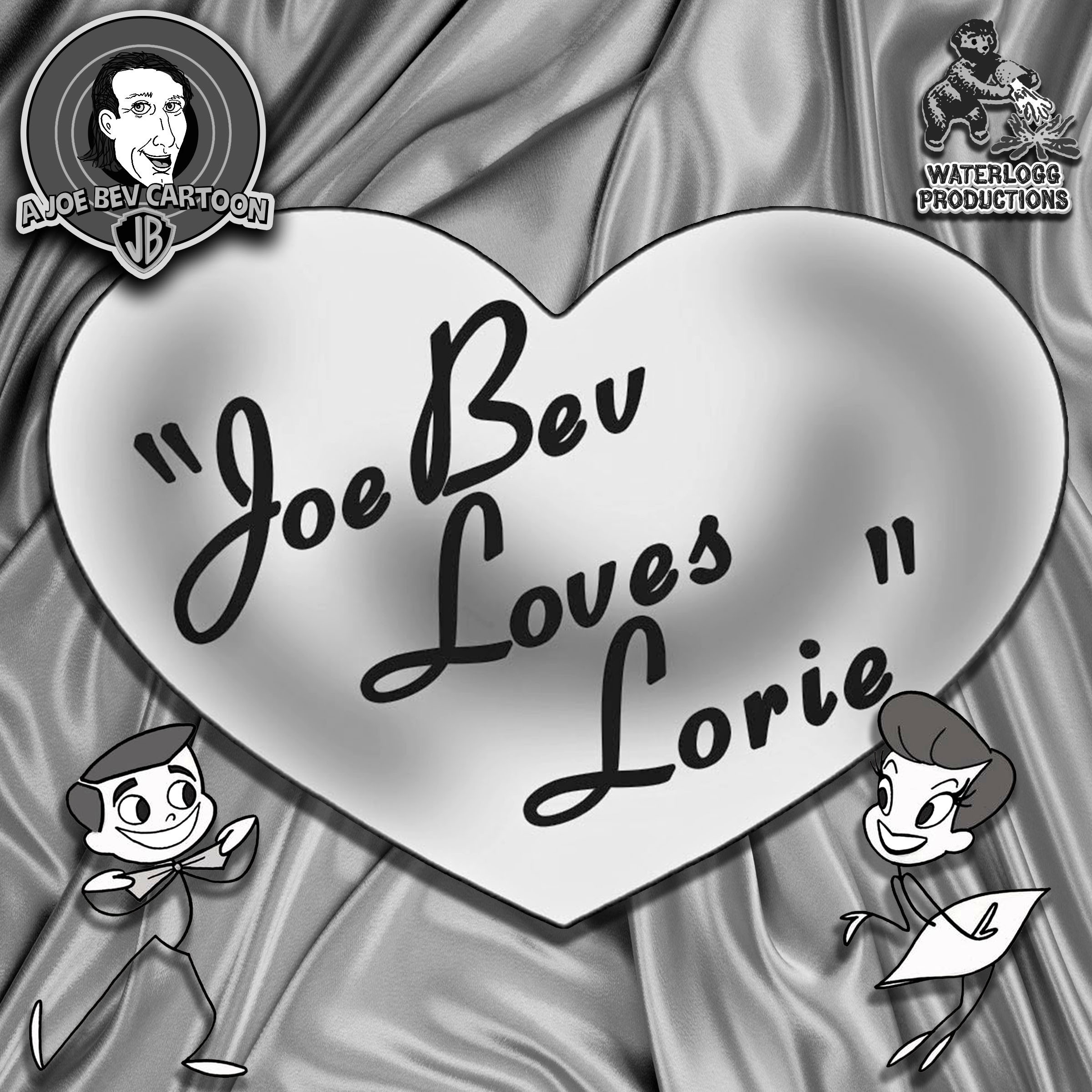 Printable Joe Bev Loves Lorie: A Joe Bev Cartoon, Volume 10 Audiobook Cover Art