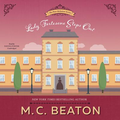 Lady Fortescue Steps Out Audiobook, by M. C. Beaton