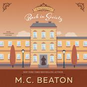 Back in Society: A Novel of Regency England Audiobook, by M. C. Beaton