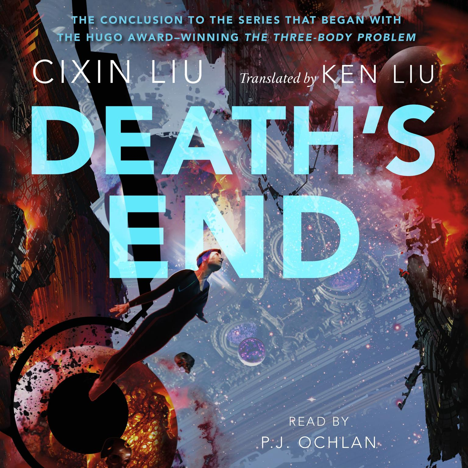 Printable Death's End Audiobook Cover Art