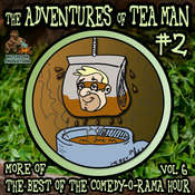 The Adventures of Tea Man, Vol. 2, by Mitchell Pearson