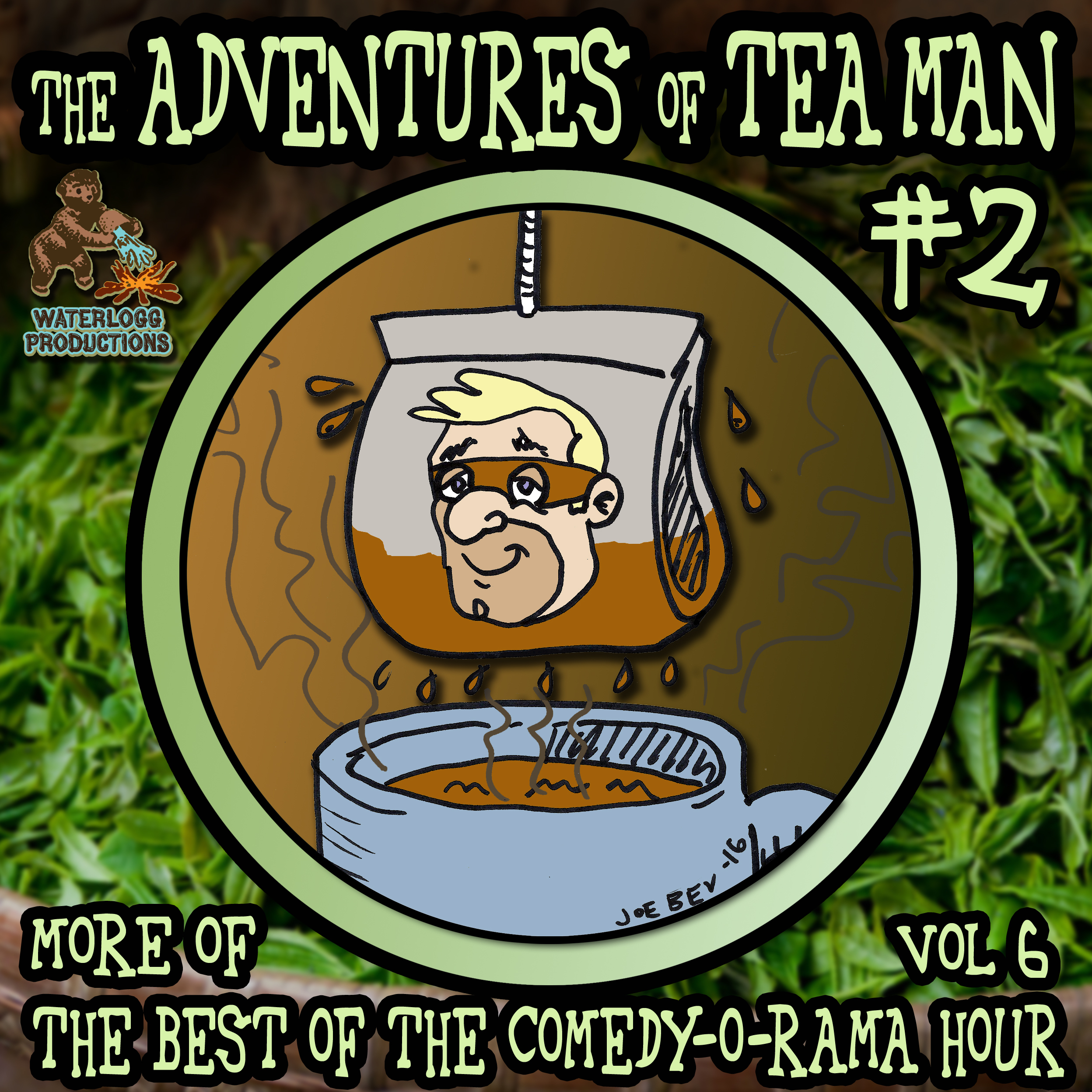Printable The Adventures of Tea Man, Vol. 2 Audiobook Cover Art