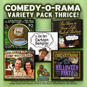 Comedy-O-Rama Variety Pack Thrice, by Joe Bevilacqua, Lorie Kellogg, Pedro Pablo Sacristán