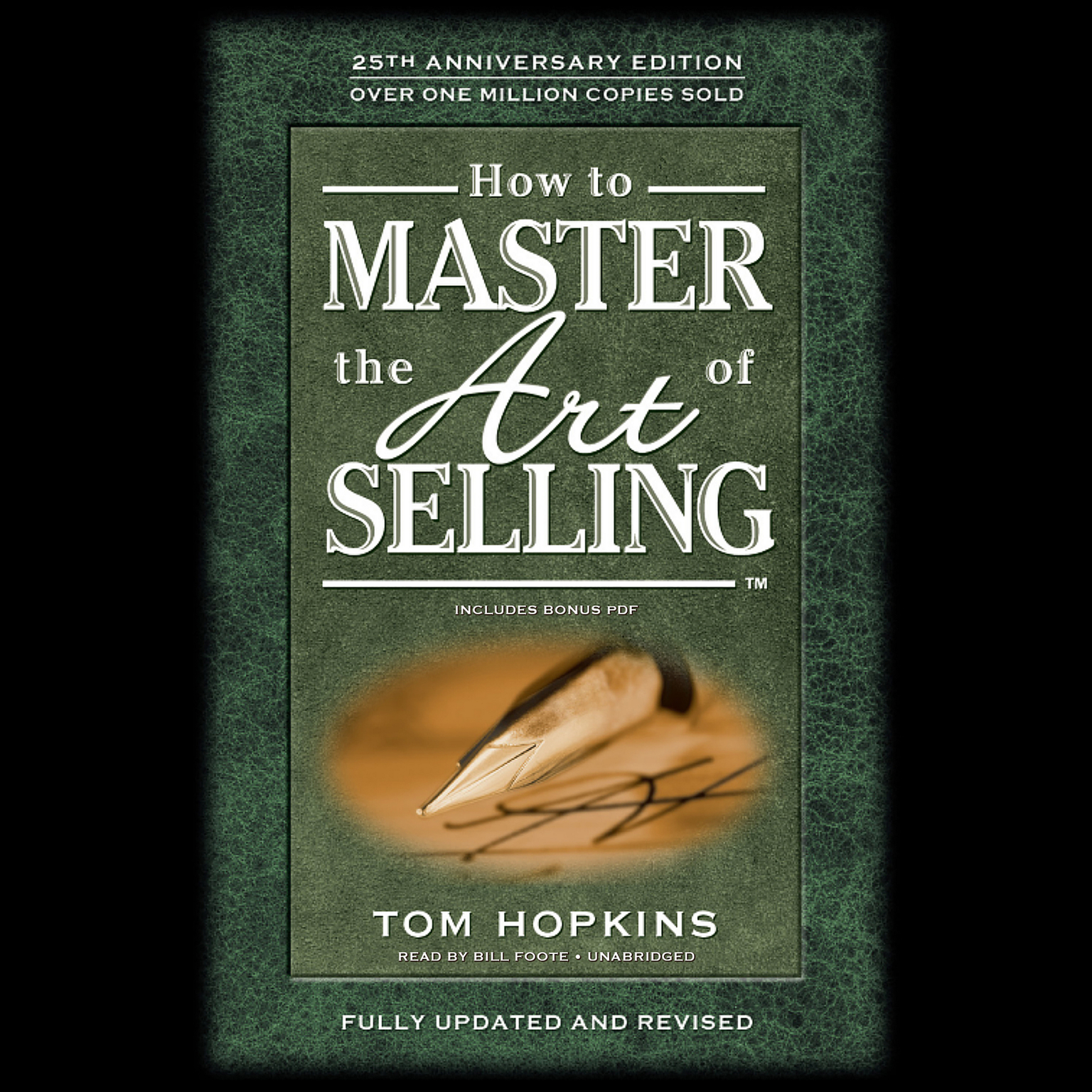 Printable How to Master the Art of Selling Audiobook Cover Art
