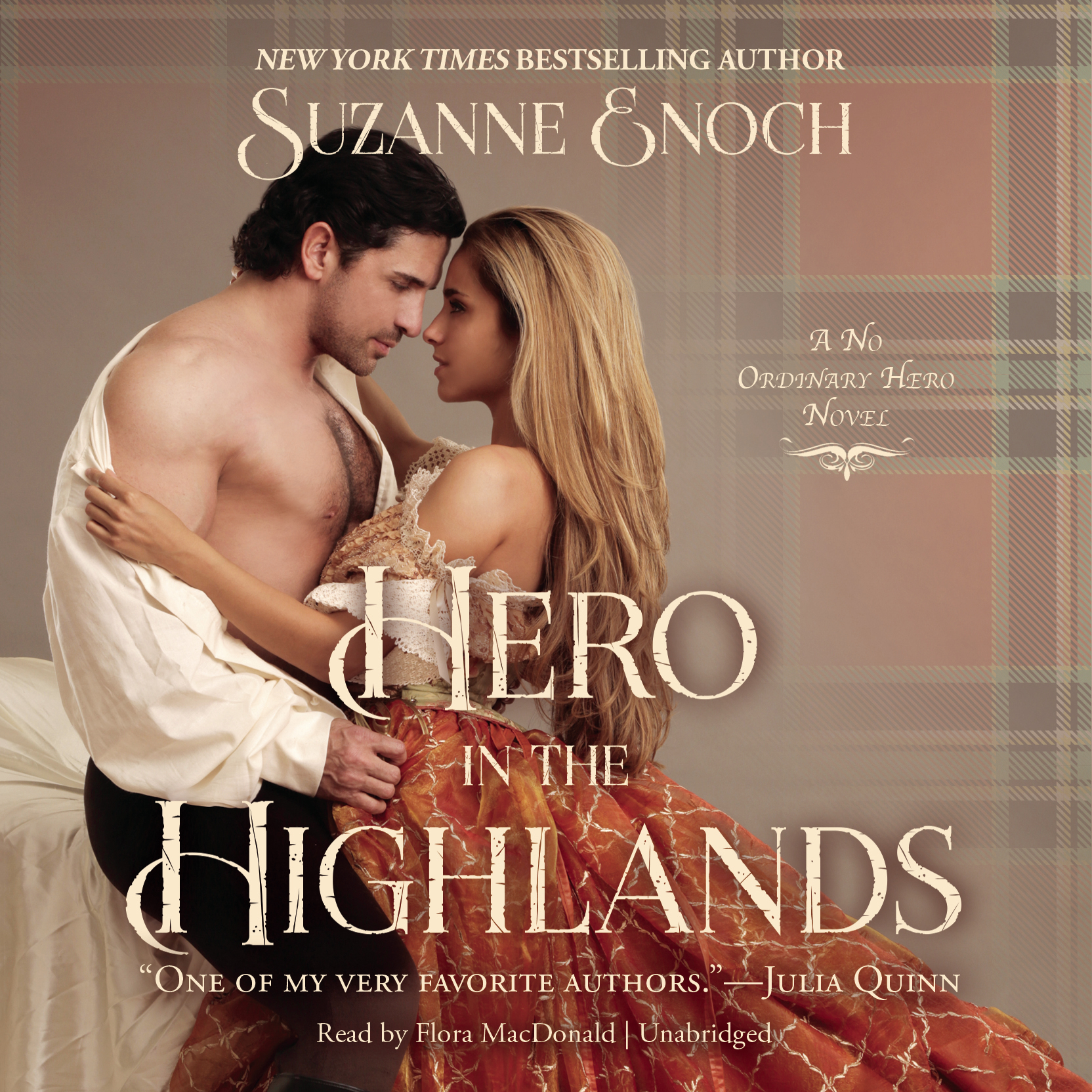 Printable Hero in the Highlands Audiobook Cover Art