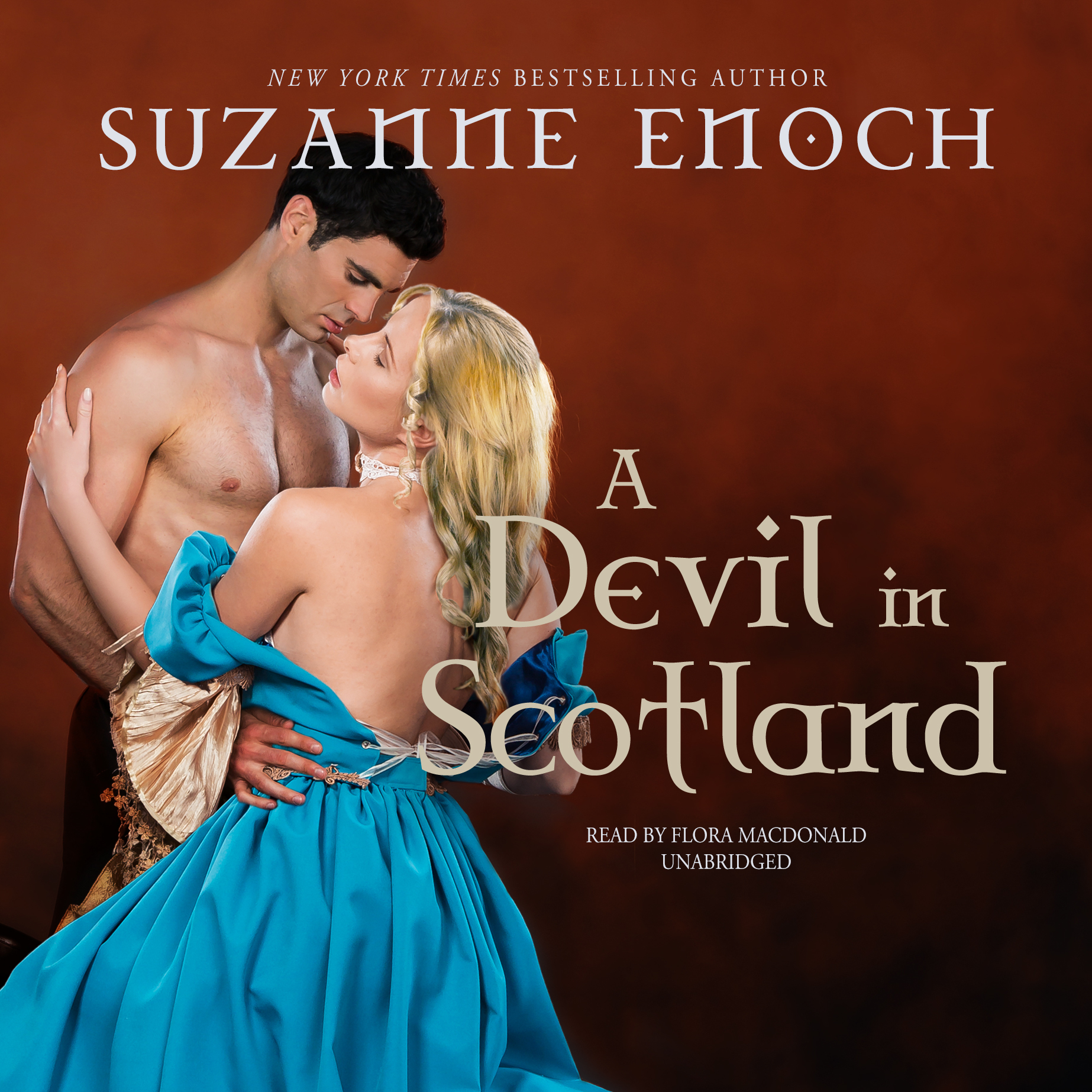 Printable A Devil in Scotland Audiobook Cover Art