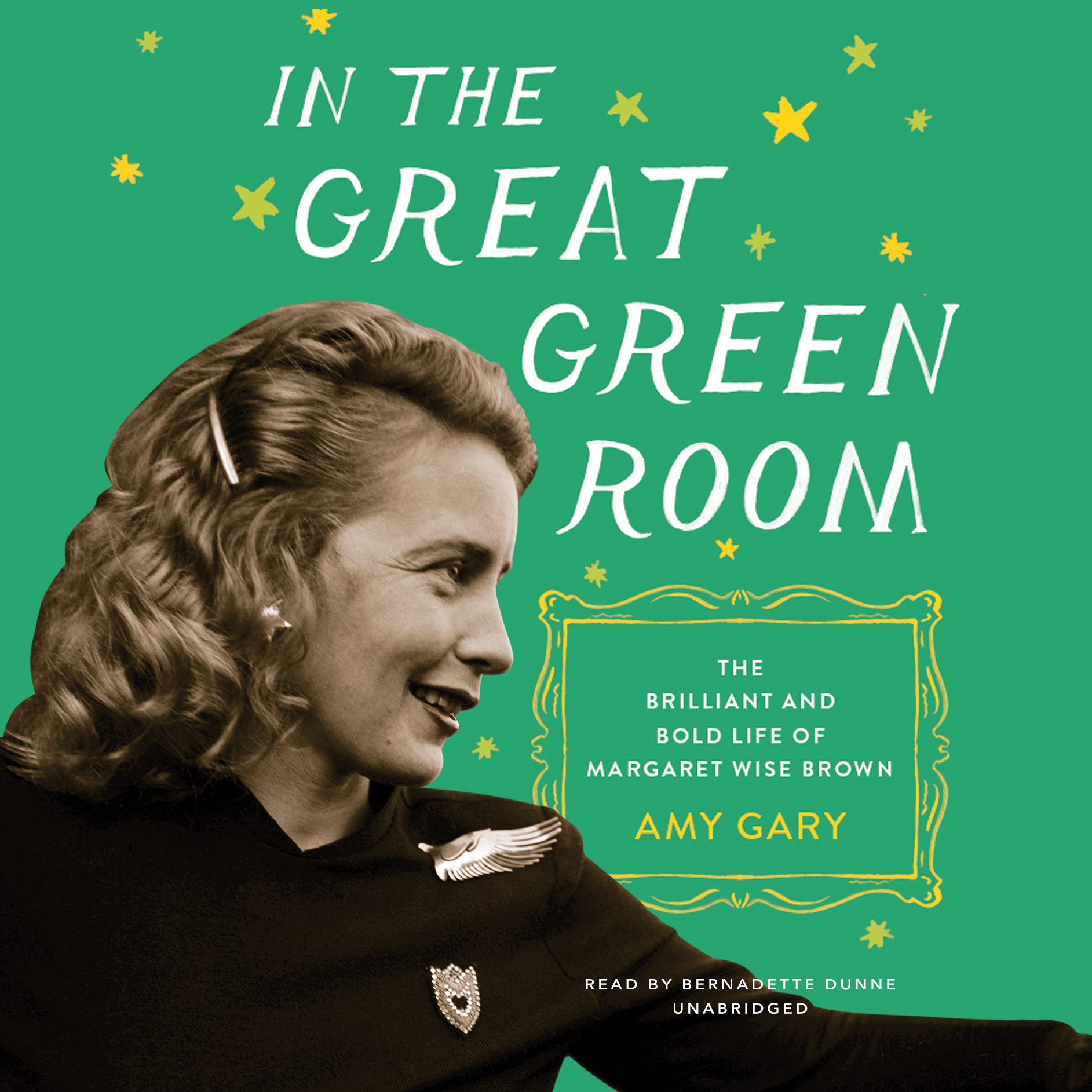 Printable In the Great Green Room: The Brilliant and Bold Life of Margaret Wise Brown Audiobook Cover Art