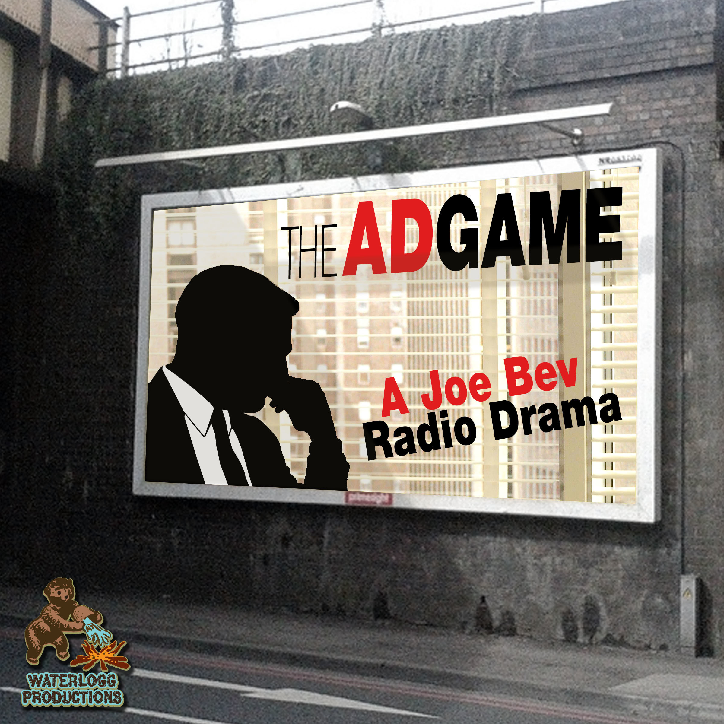 Printable The Ad Game:  A Joe Bev Radio Drama  Audiobook Cover Art