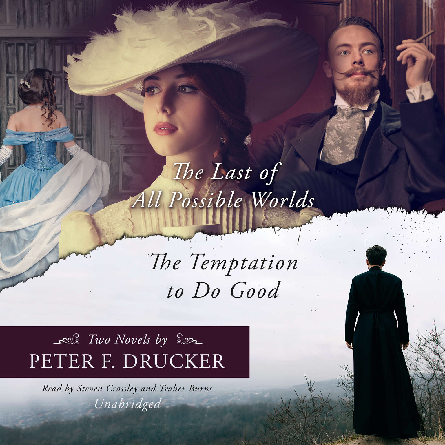 Printable The Last of All Possible Worlds and The Temptation to Do Good: Two Novels by Peter F. Drucker Audiobook Cover Art