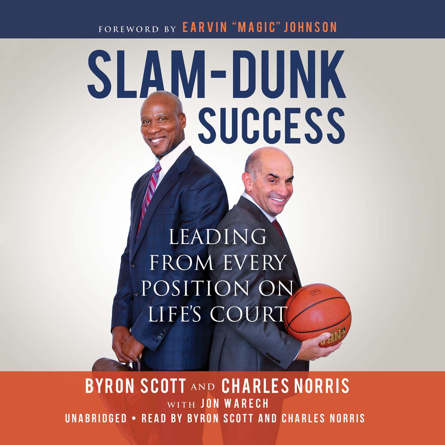 Printable Slam-Dunk Success: Leading from Every Position on Life's Court Audiobook Cover Art