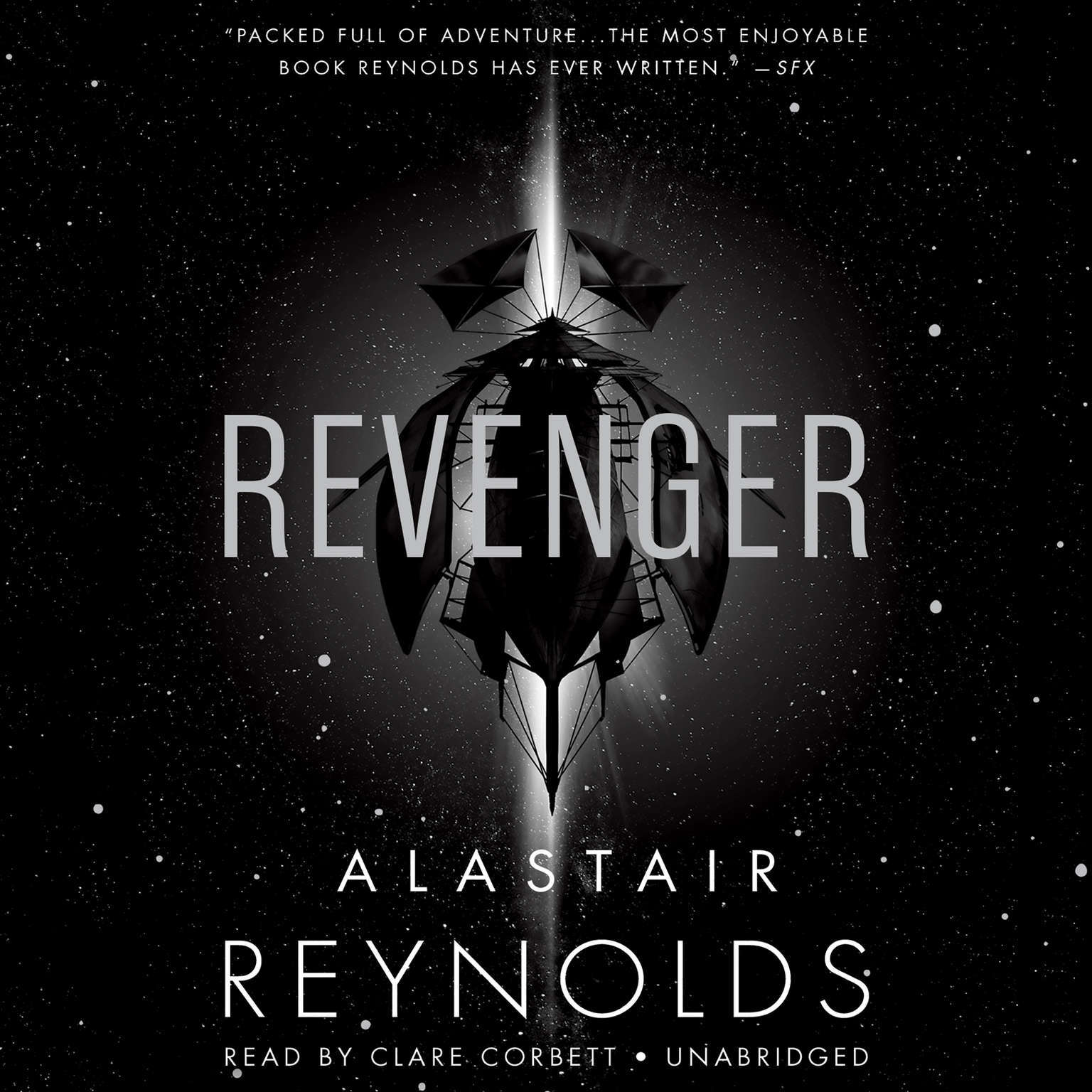 Printable Revenger Audiobook Cover Art